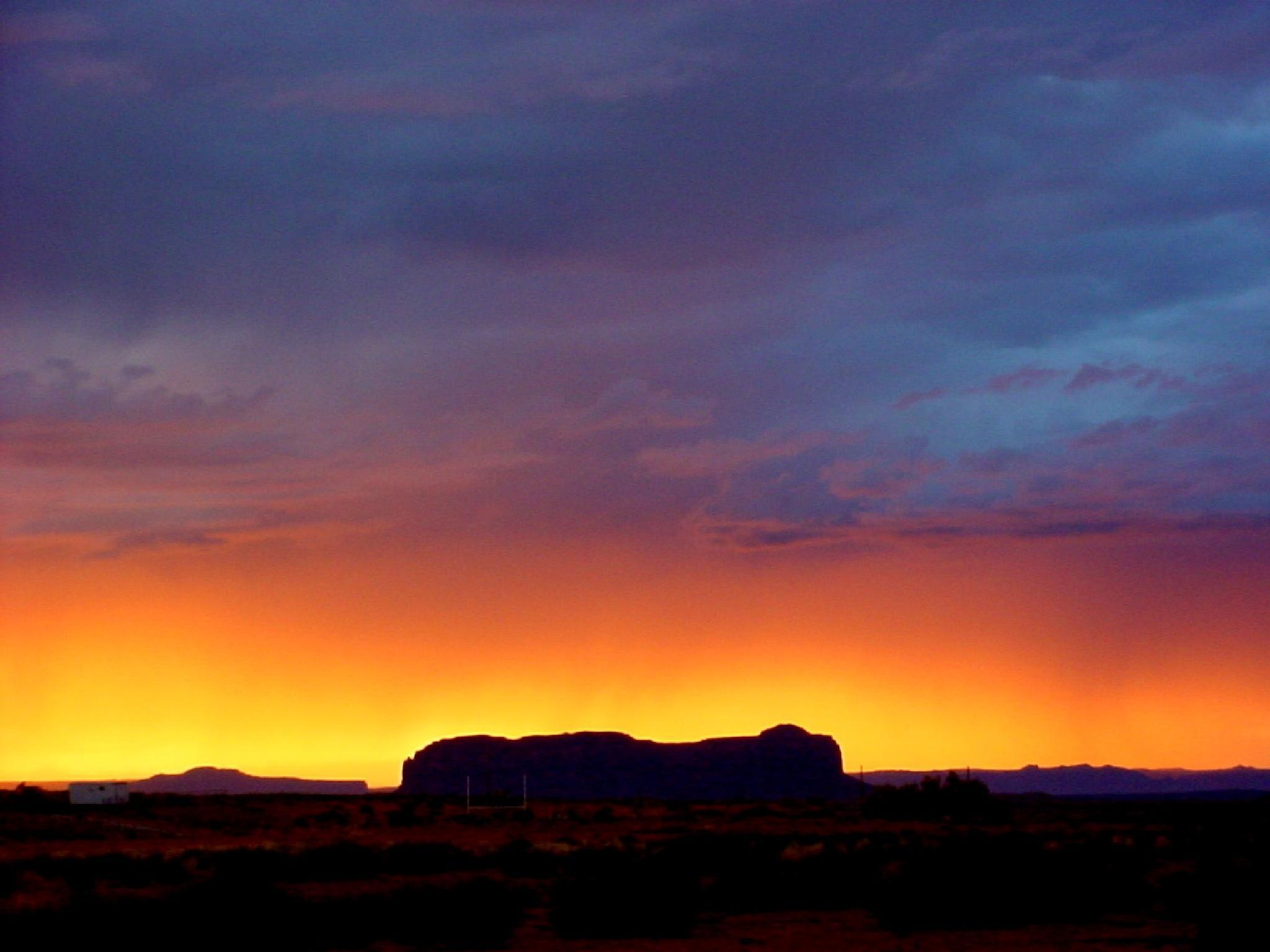 sunset,monument valley by gigi.sorrentino1
