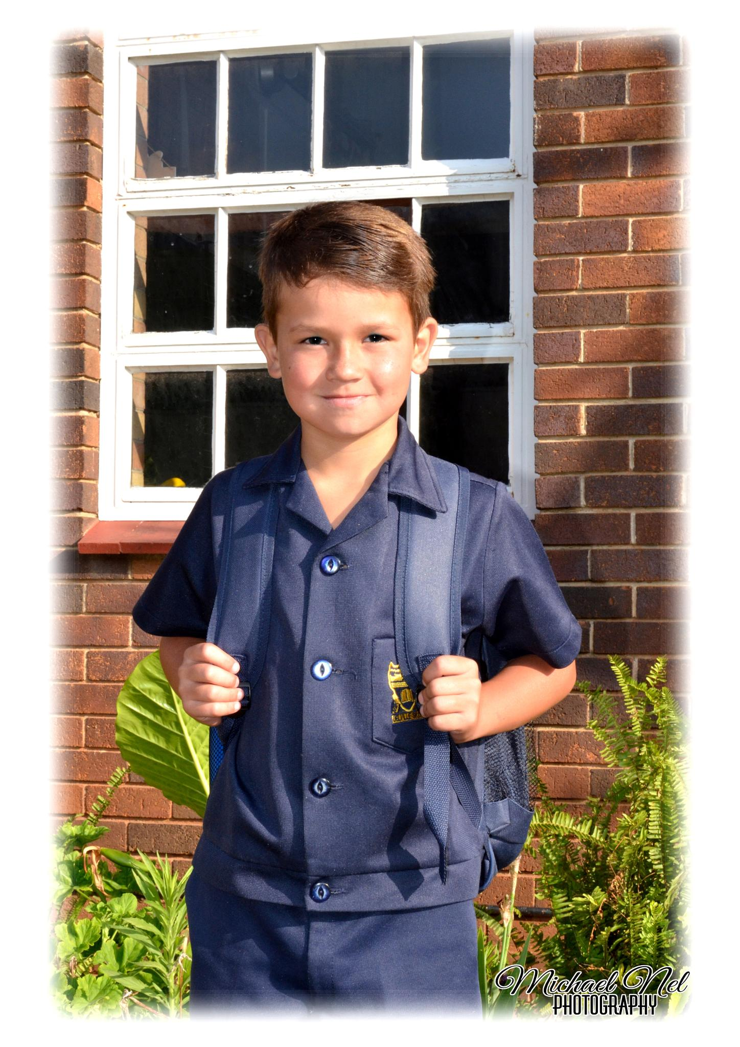 First day at Grade 1 by michael.nel.526