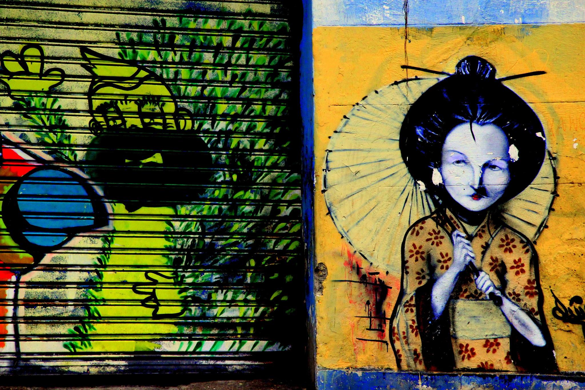 street art/brazil by barbaraden