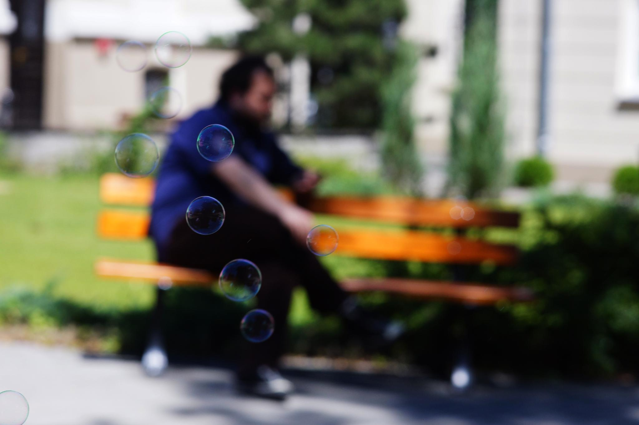 soap bubbles by Ania K-S
