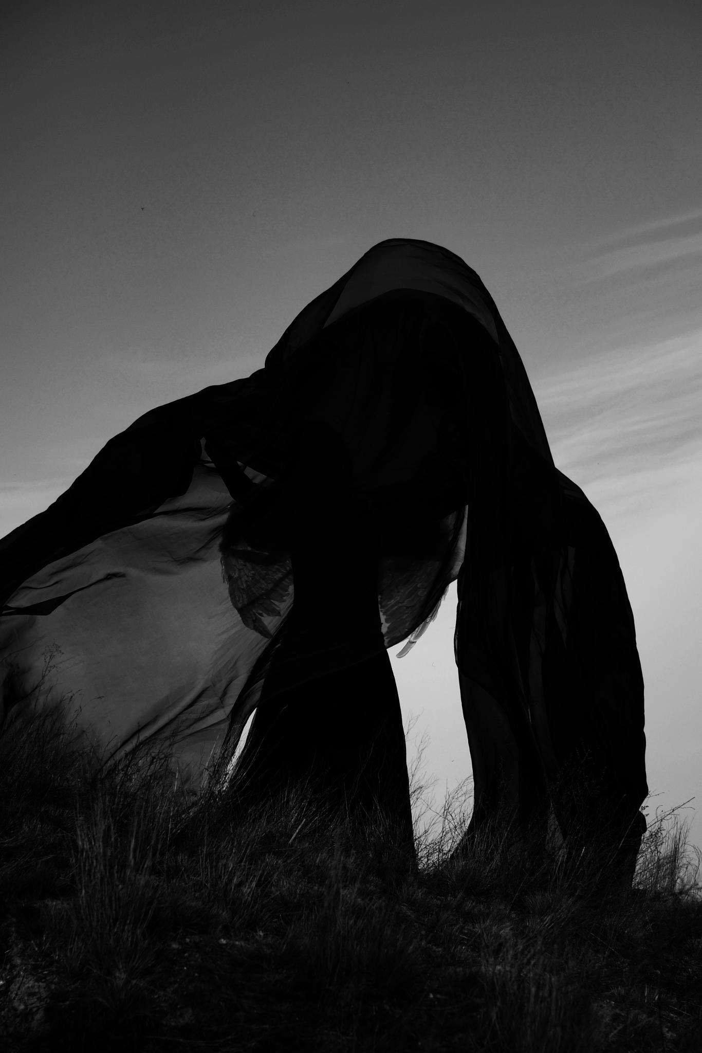Black angel by Ania K-S