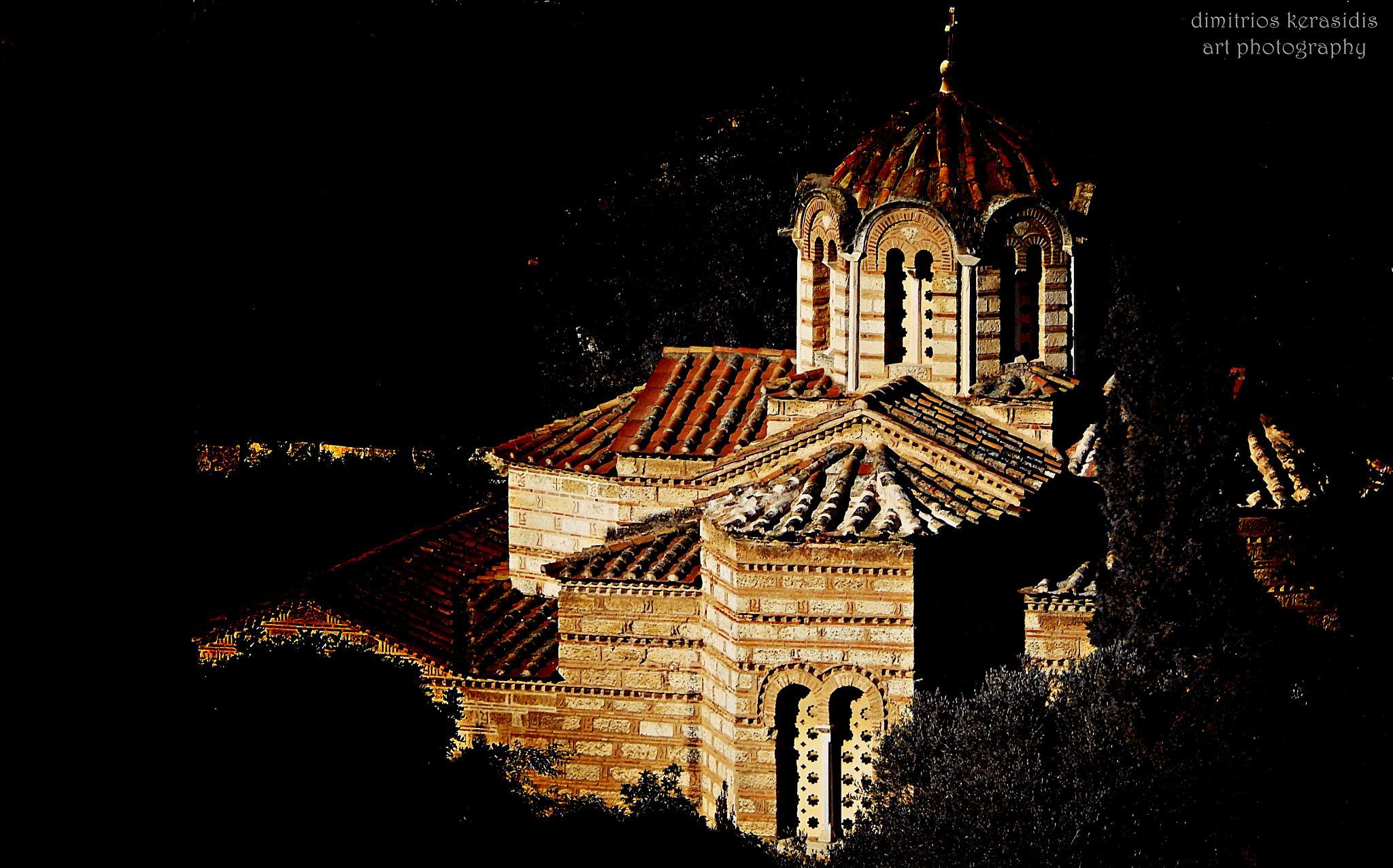Church of the Holy Apostles & Temple of Hephaestus by kerasidis.dimitris