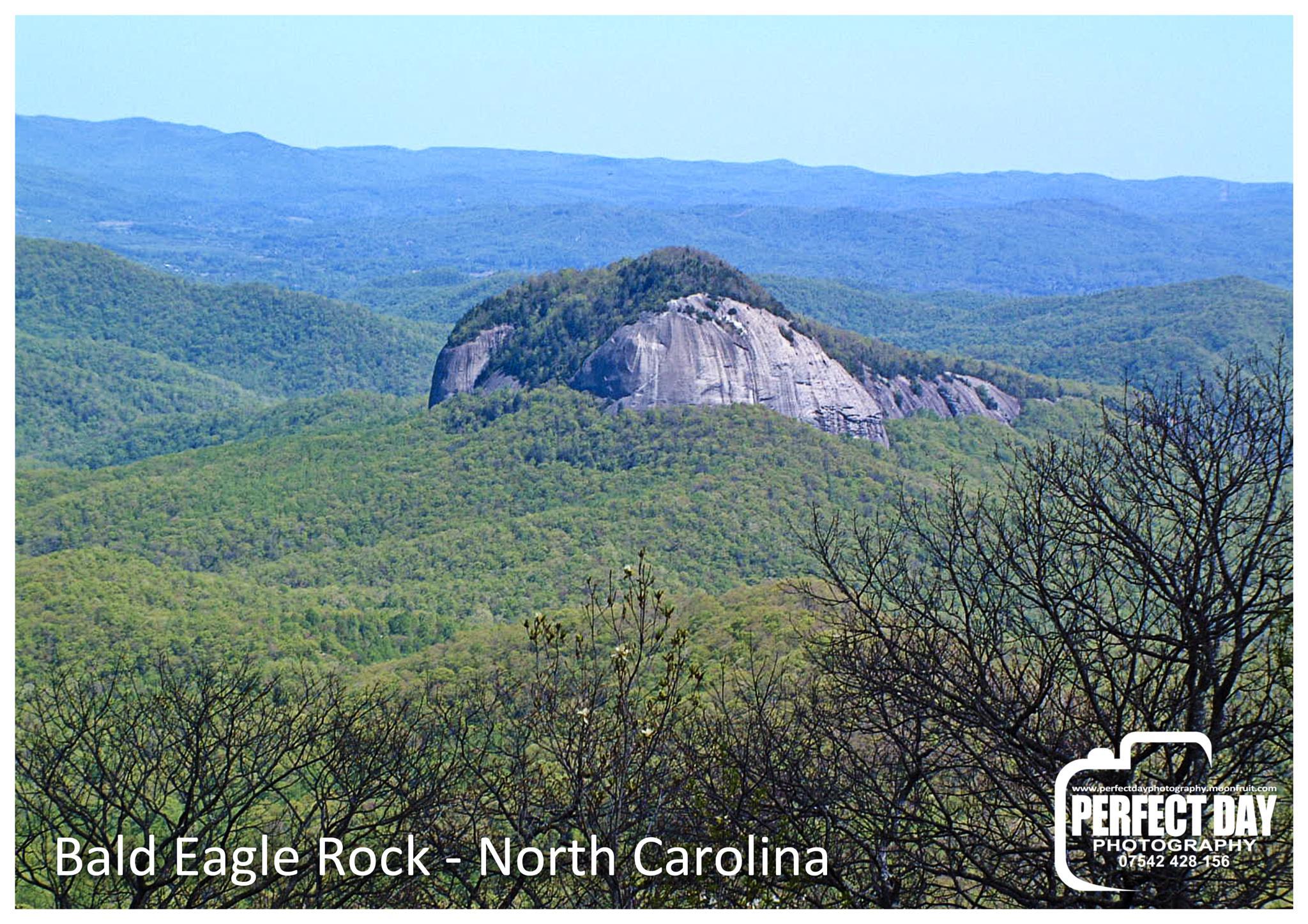 Bald Eagle Rock - Blue Ridge Mountains - N Carolina by mel.harrison.5439
