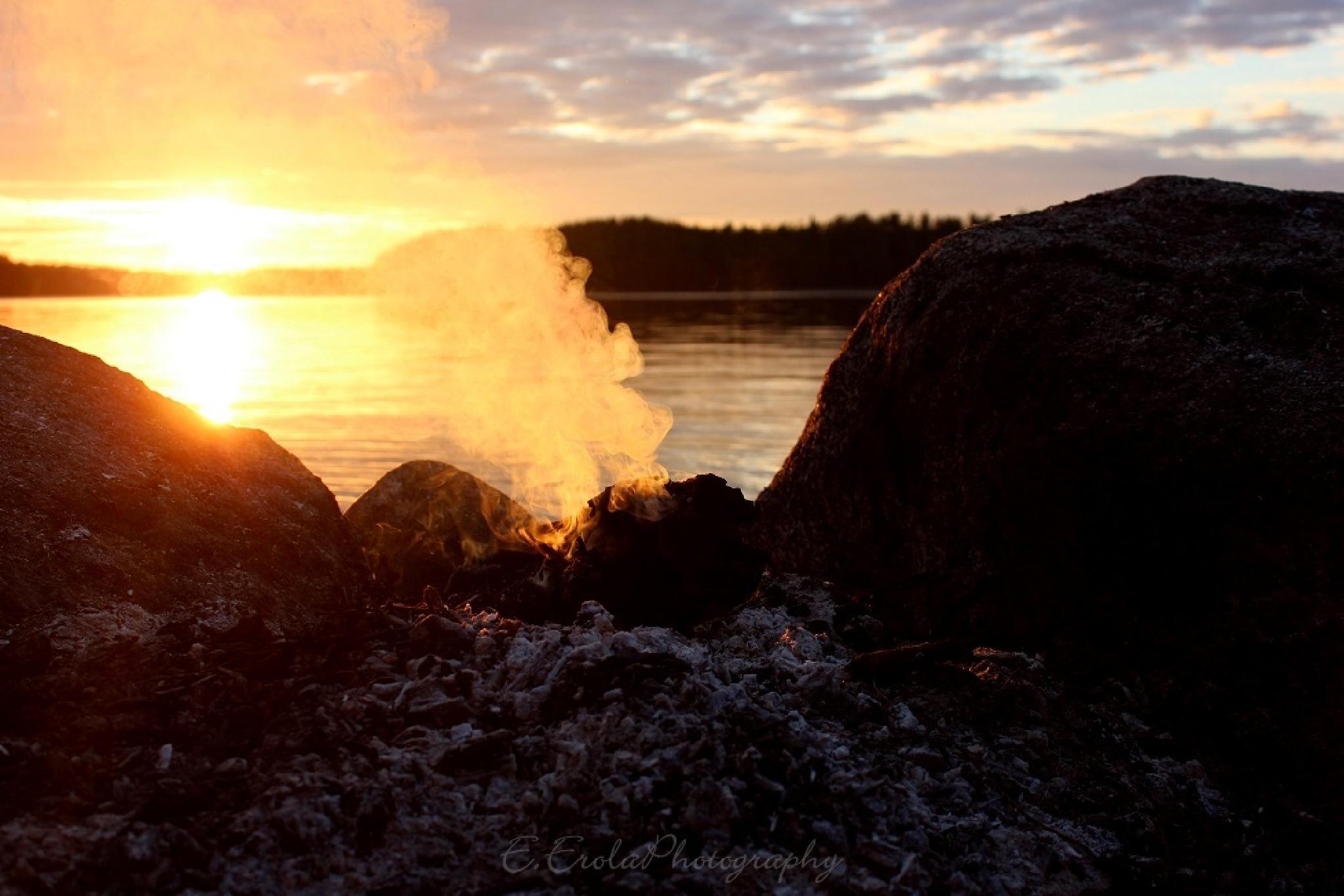 Burning by E.ErolaPhotography