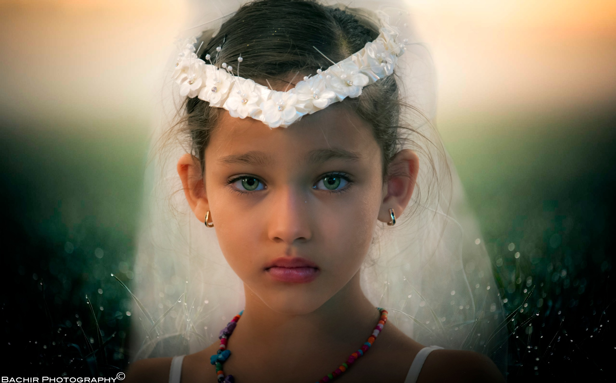 Green Eyes  by Aïmer Bachir