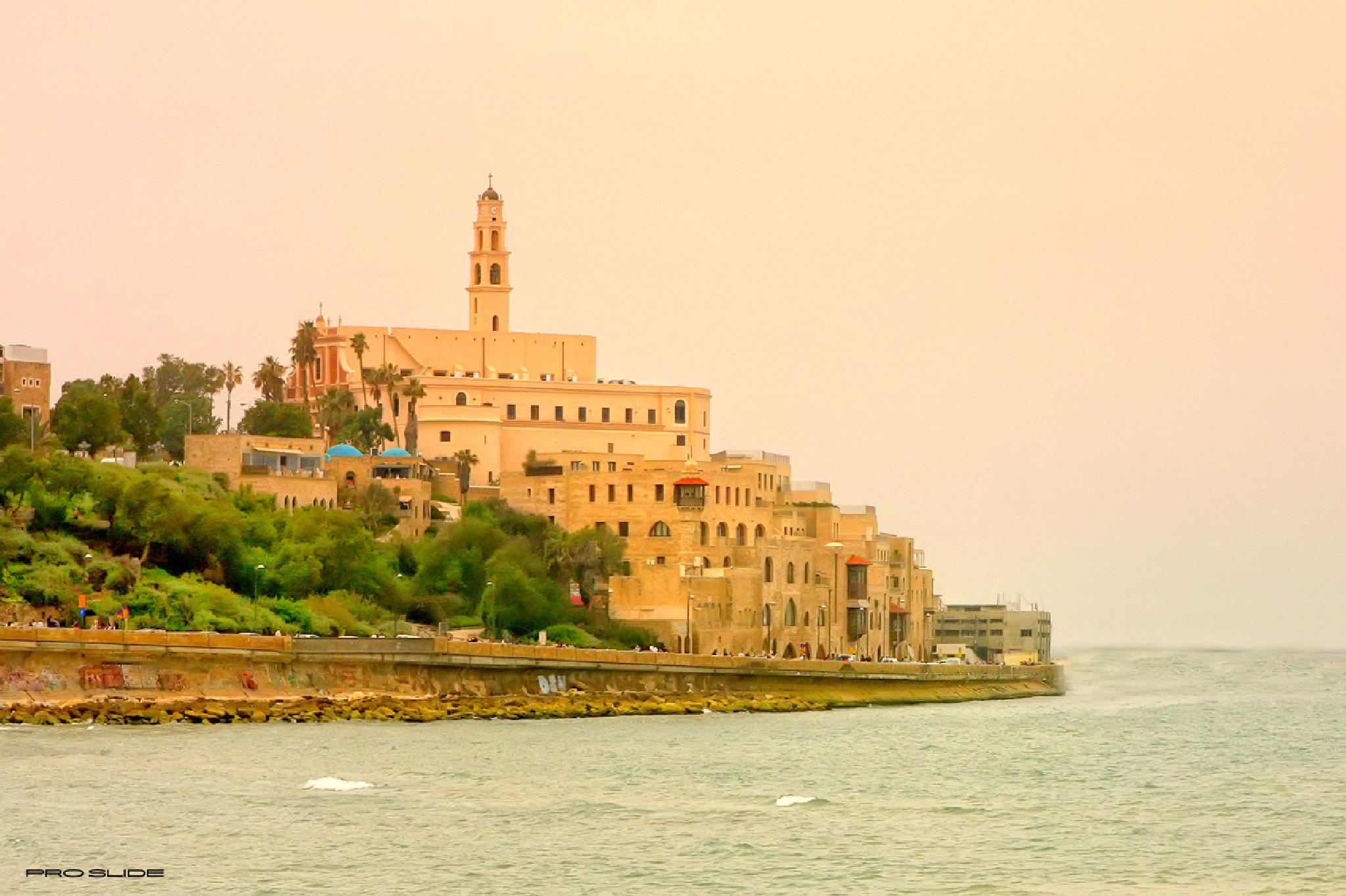 Old city of Jaffa  by Jim Jonsson