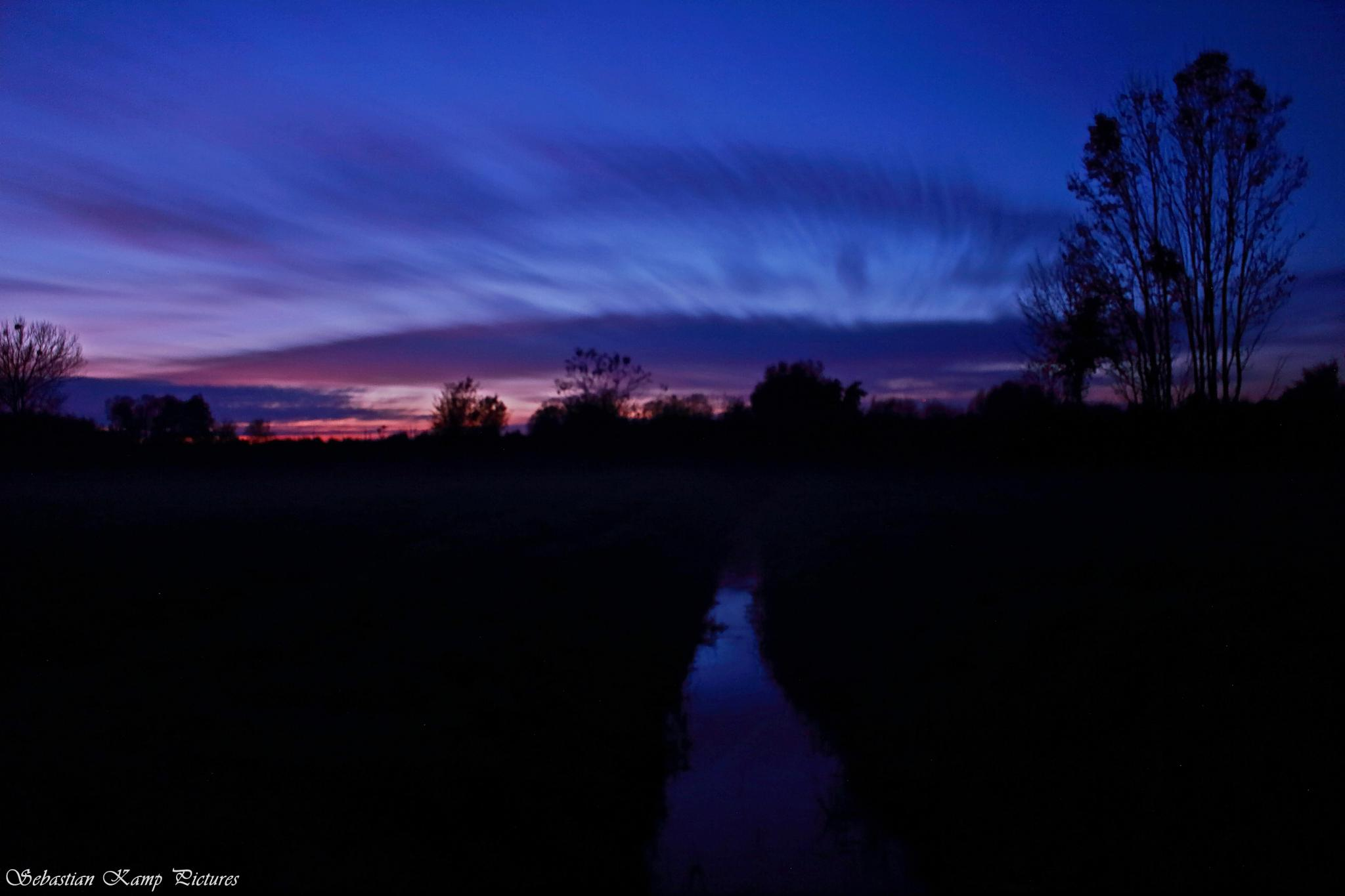 Sunset on 30/10/2014 by Sebastian Kamp