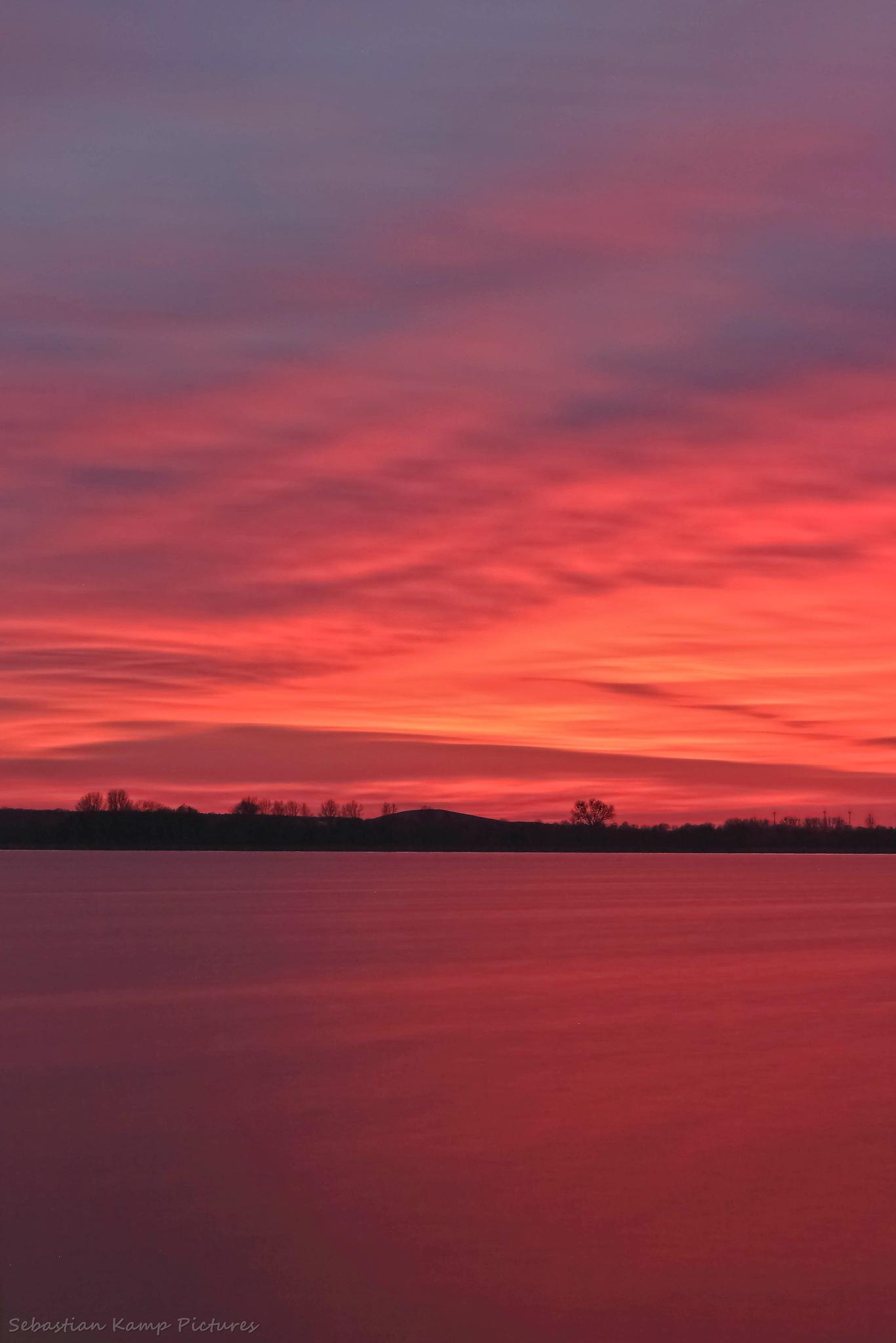 sunset by Sebastian Kamp
