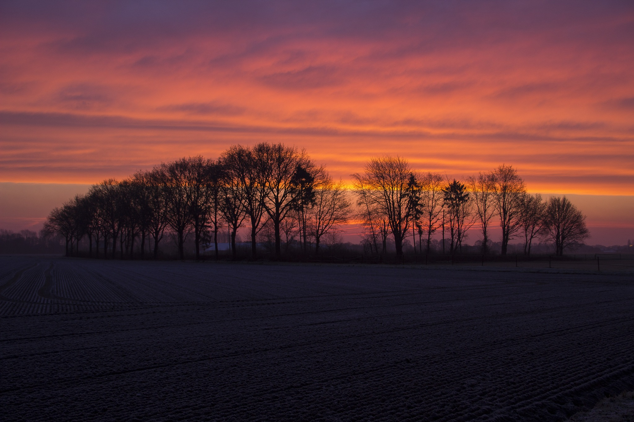 Early in the morning by hennievandercruijsen