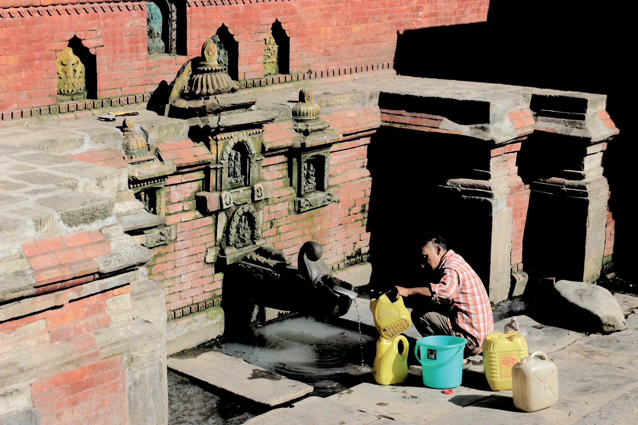 Ancient Water supply Tap by rajivkilanashrestha