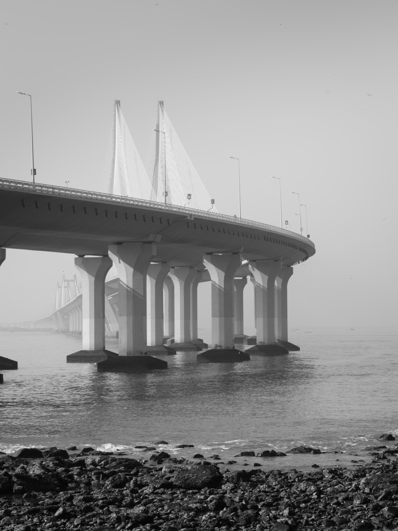 Bridge has got curves by hakri