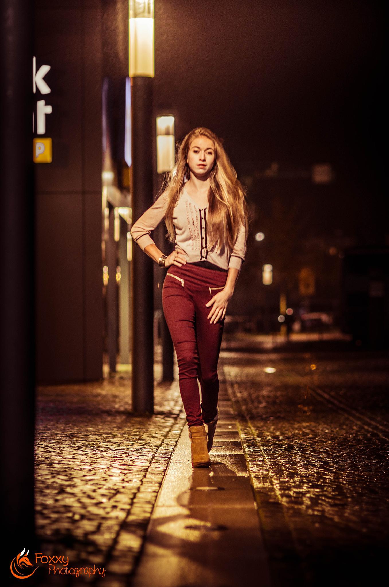 Nightlife 1 by Foxxy Photography
