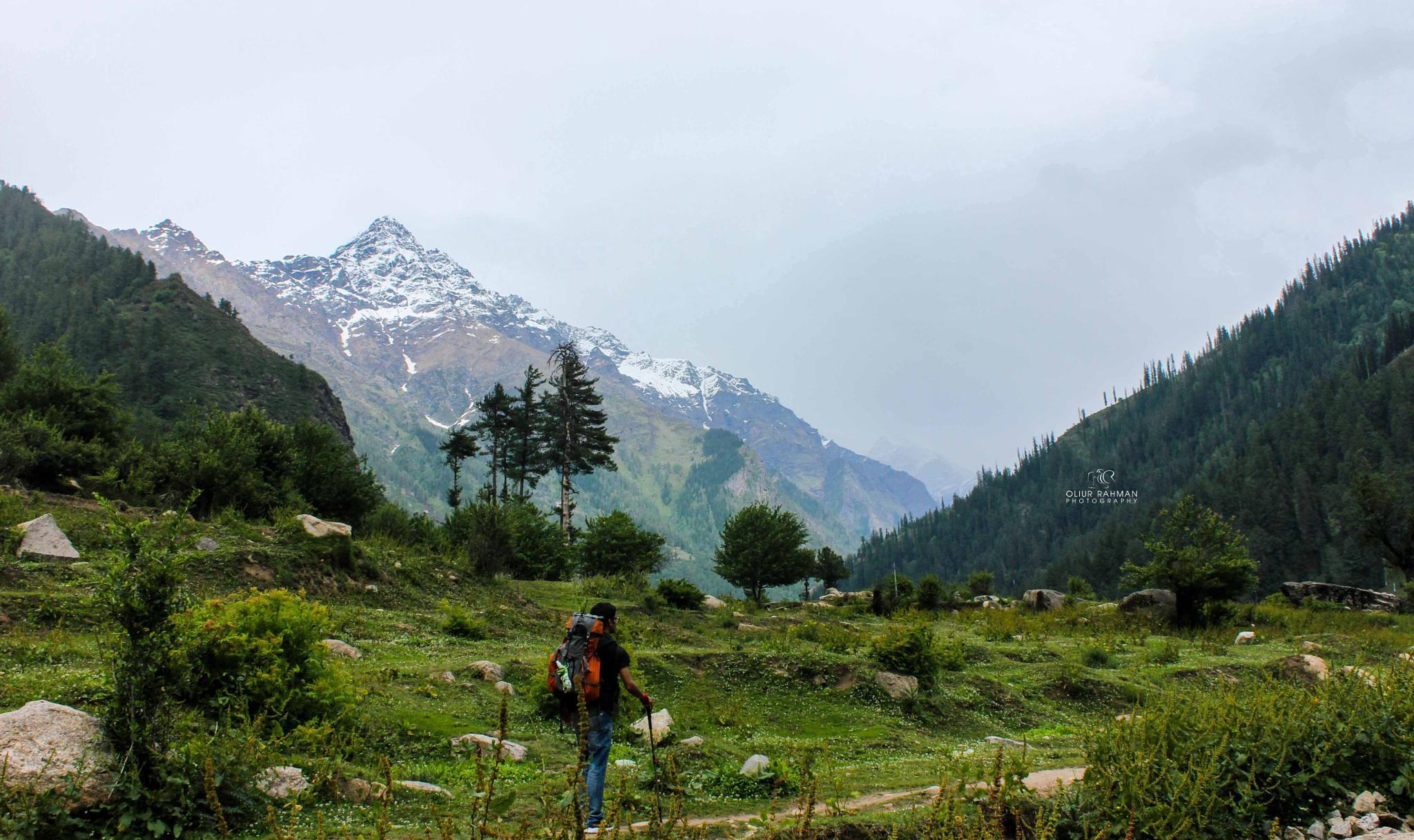 A Trek to Indian Himalayas by Oliur Rahman
