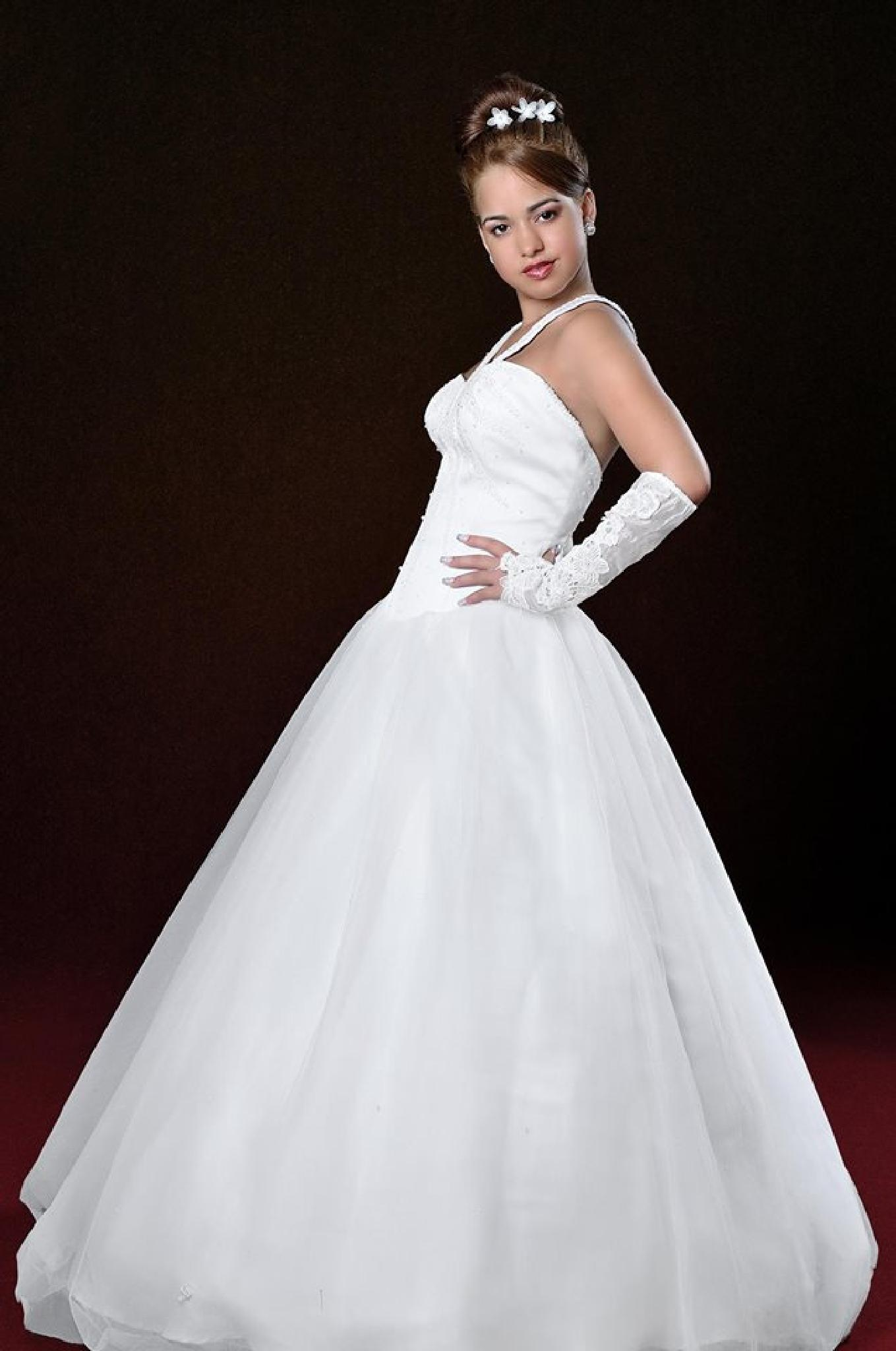 In Prom Dress by Markesky Holland
