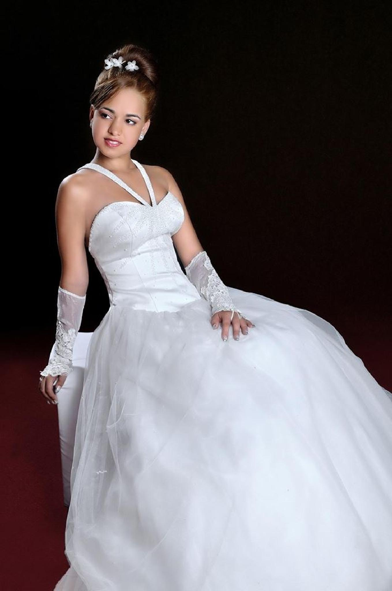 In Prom Dress I by Markesky Holland
