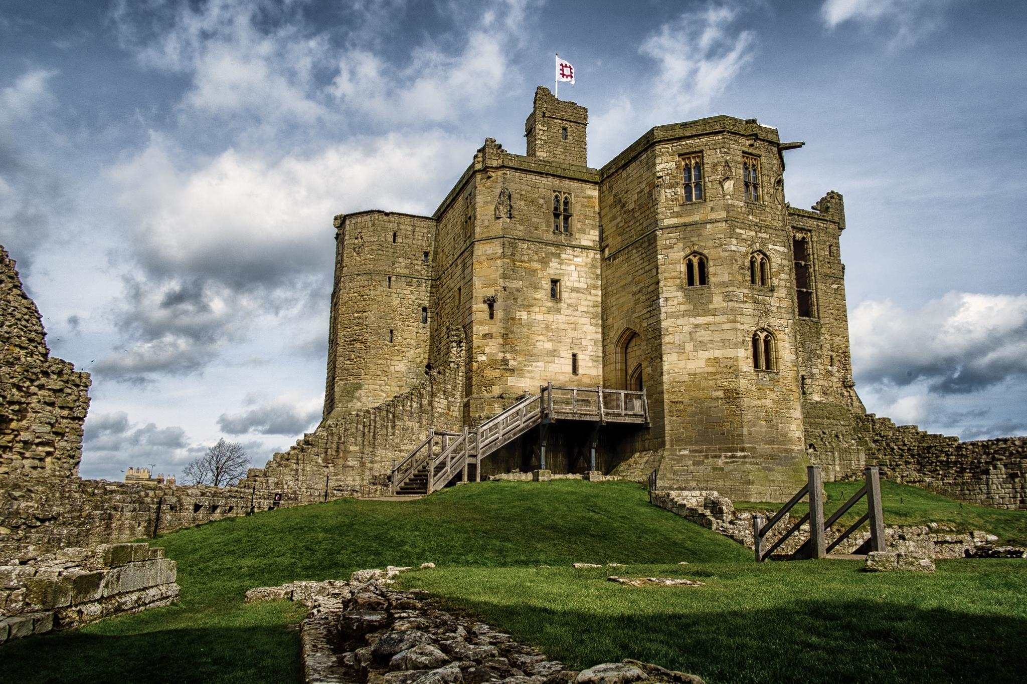 Warkworth Castle  by Mike Howe