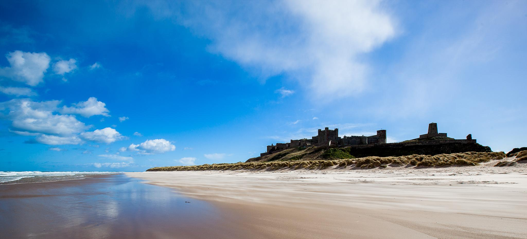 Bamburgh Castle by Mike Howe