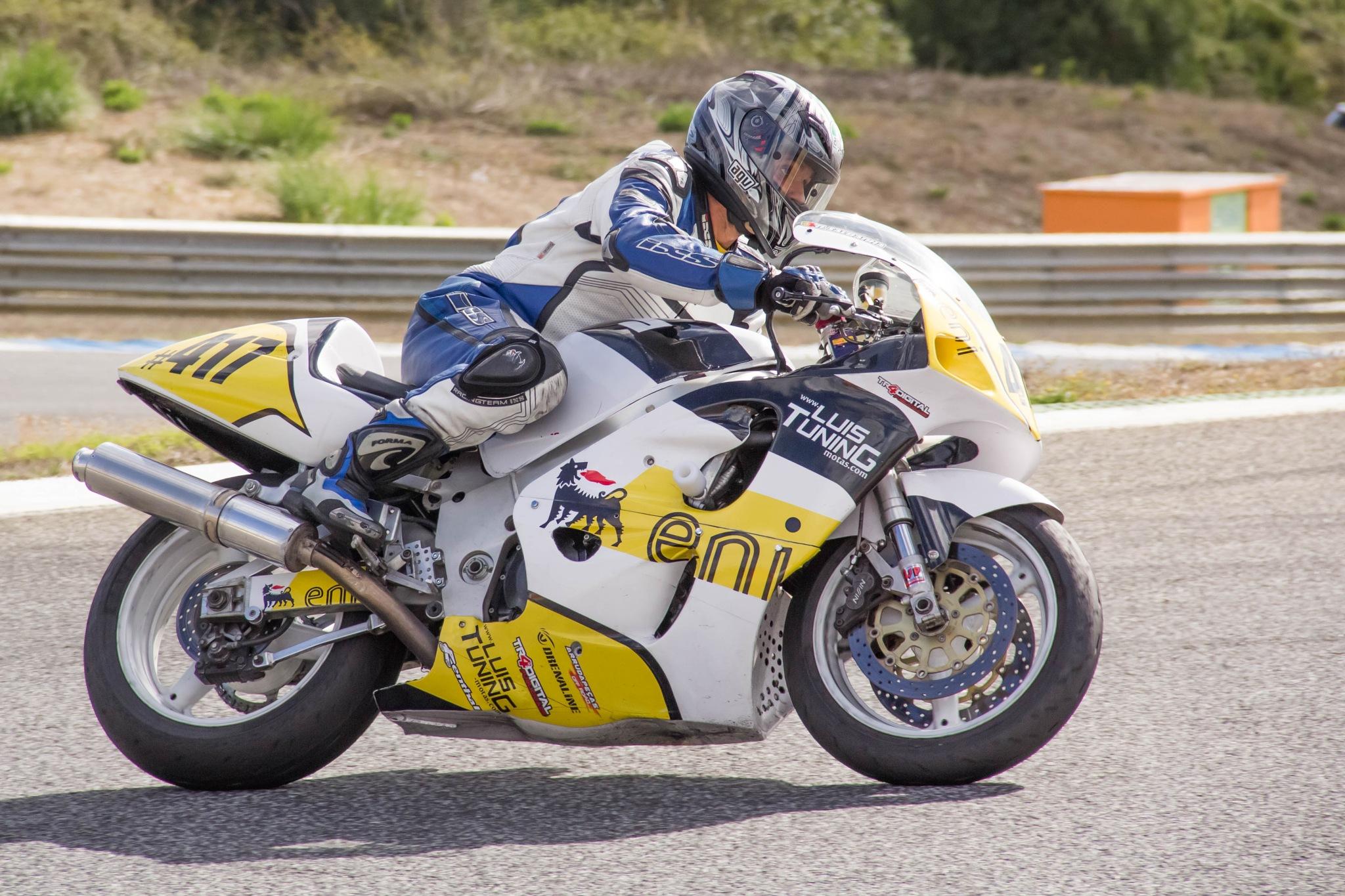 Motocycling by Carla Dias