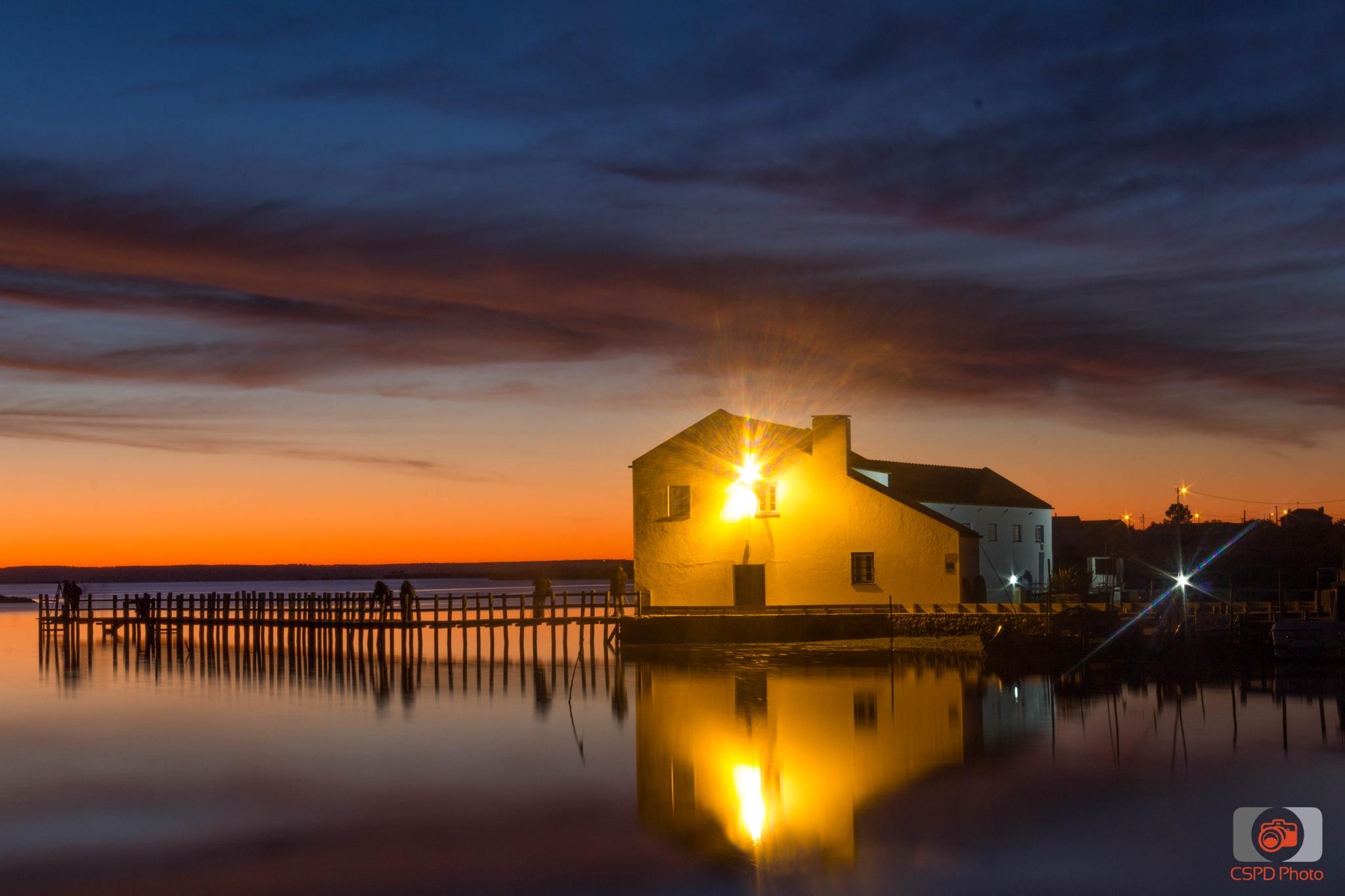 Sunrise at Mouriscas by Carla Dias