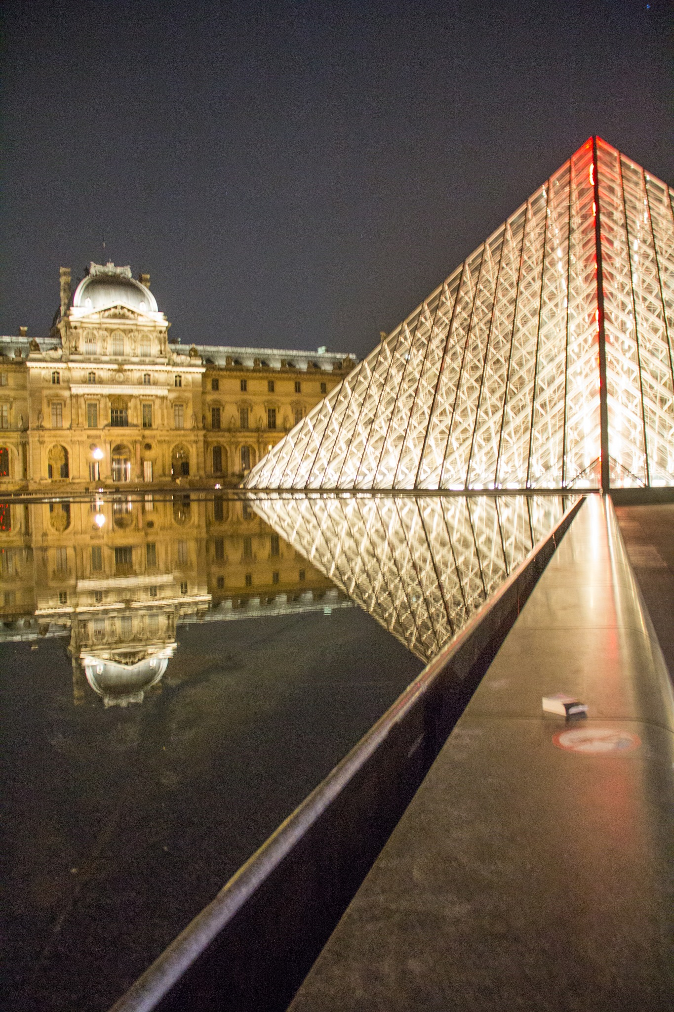 Louvre at Night by Carla Dias