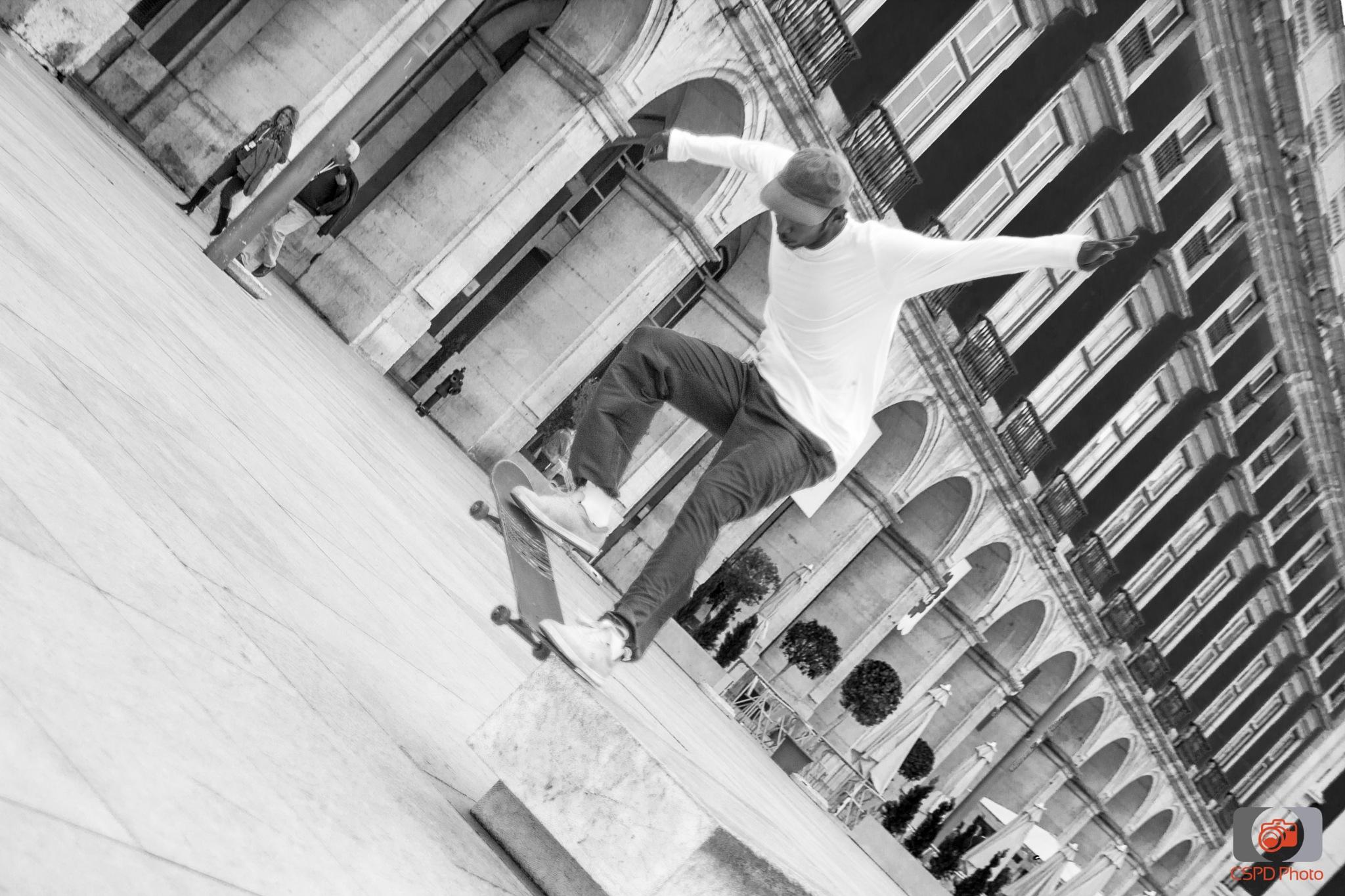 Skater by Carla Dias