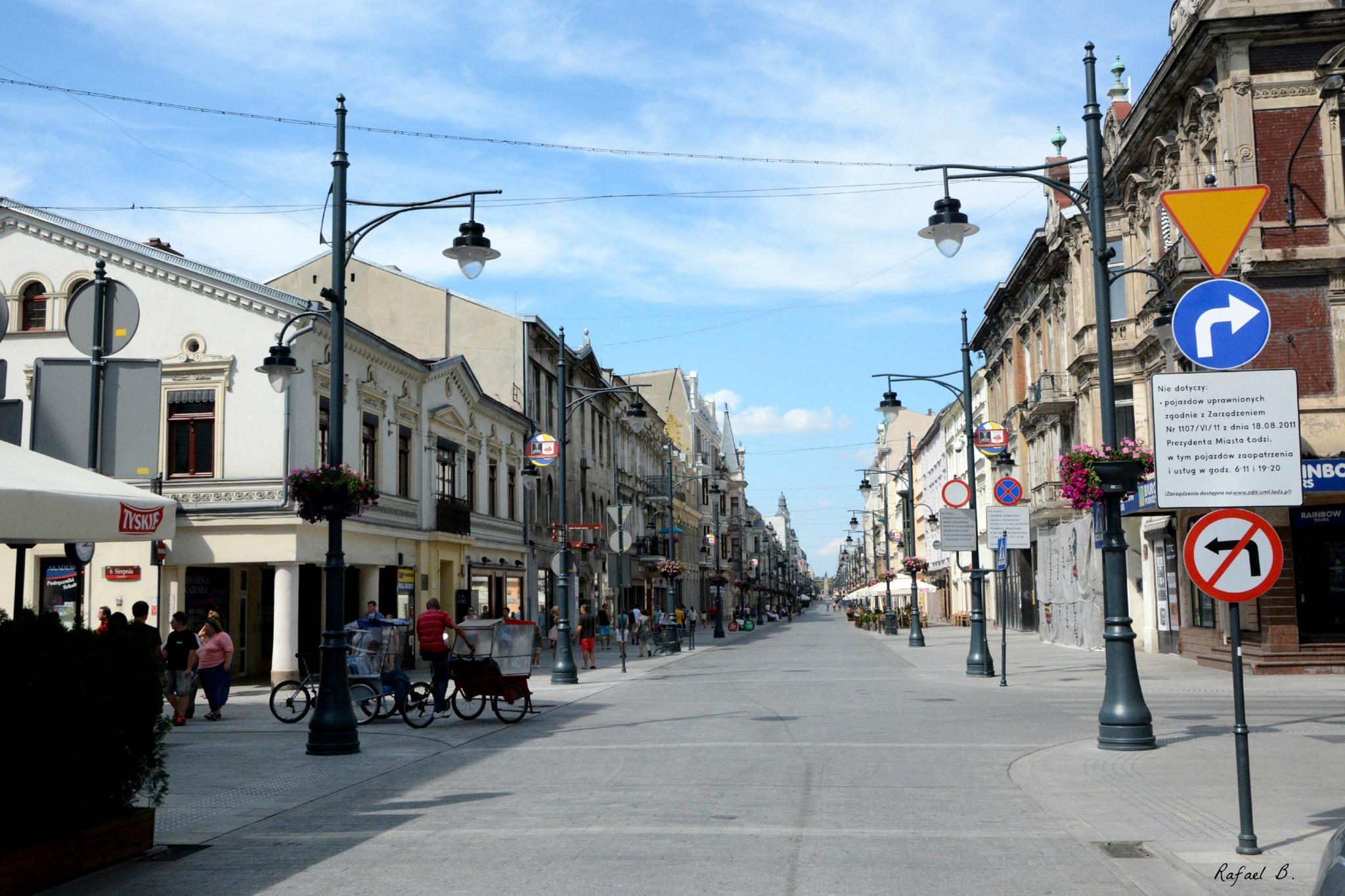 Street view Lodz by raymond.r.borenstein