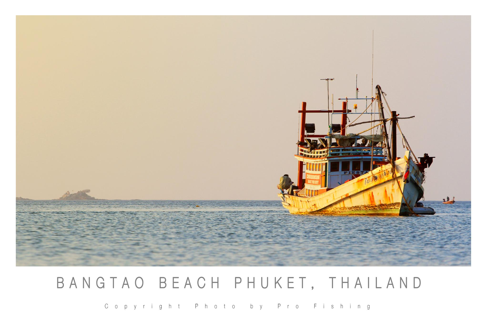 Bang Tao Beach by Pro Fishing Photographer
