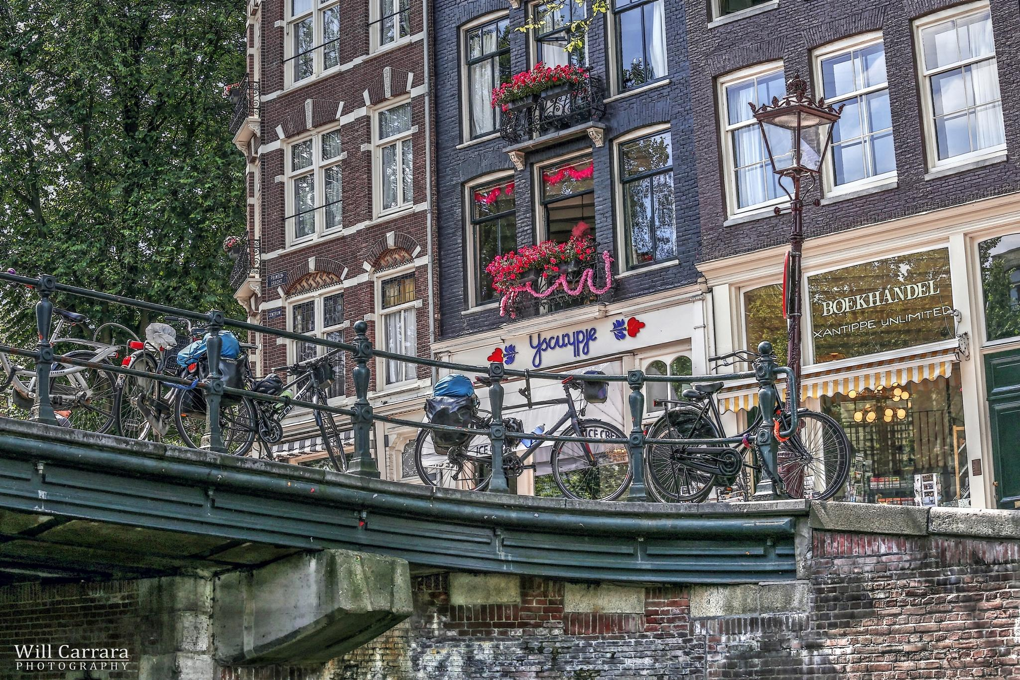 Amsterdam\Holand by Will Carrara Photographer