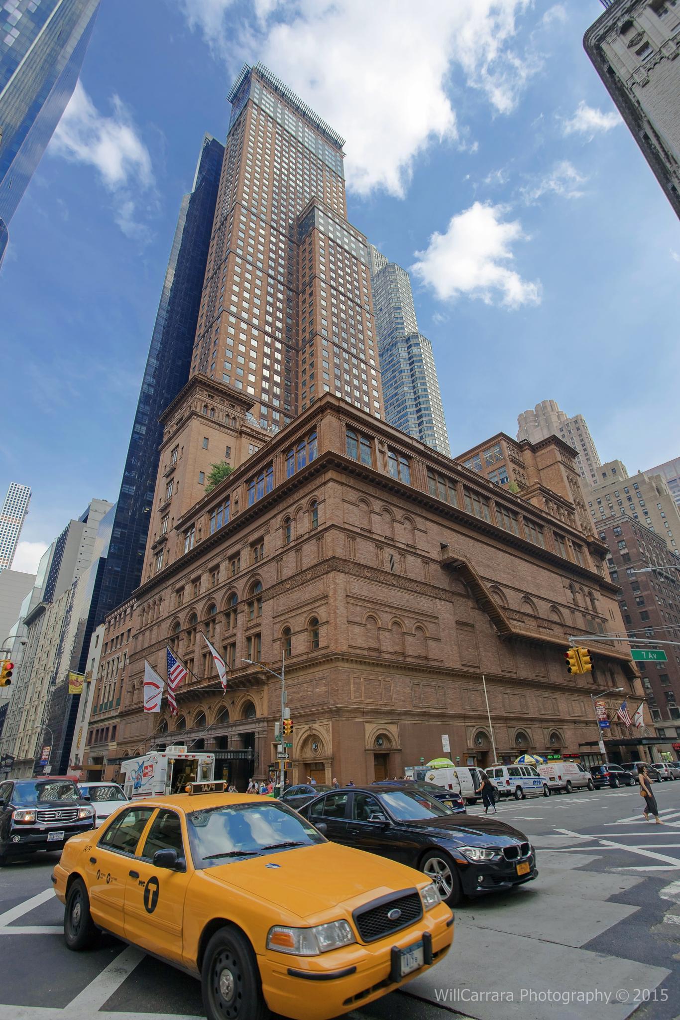 Street Photography - New York jun 2015 Carnegie Hall by Will Carrara Photographer