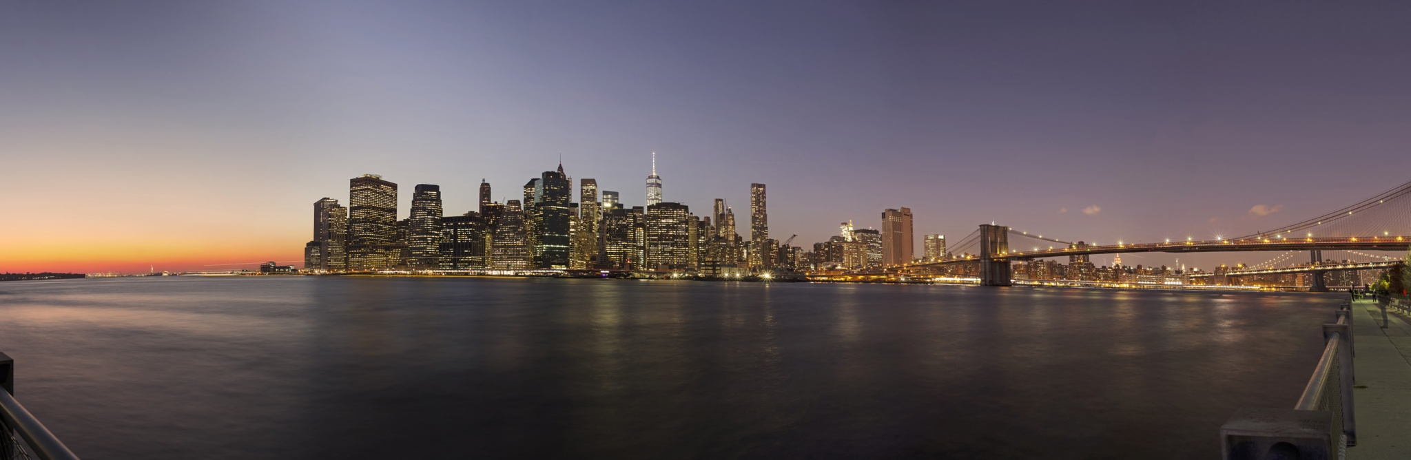 Good Night Manhattan by Sebastian Helmke