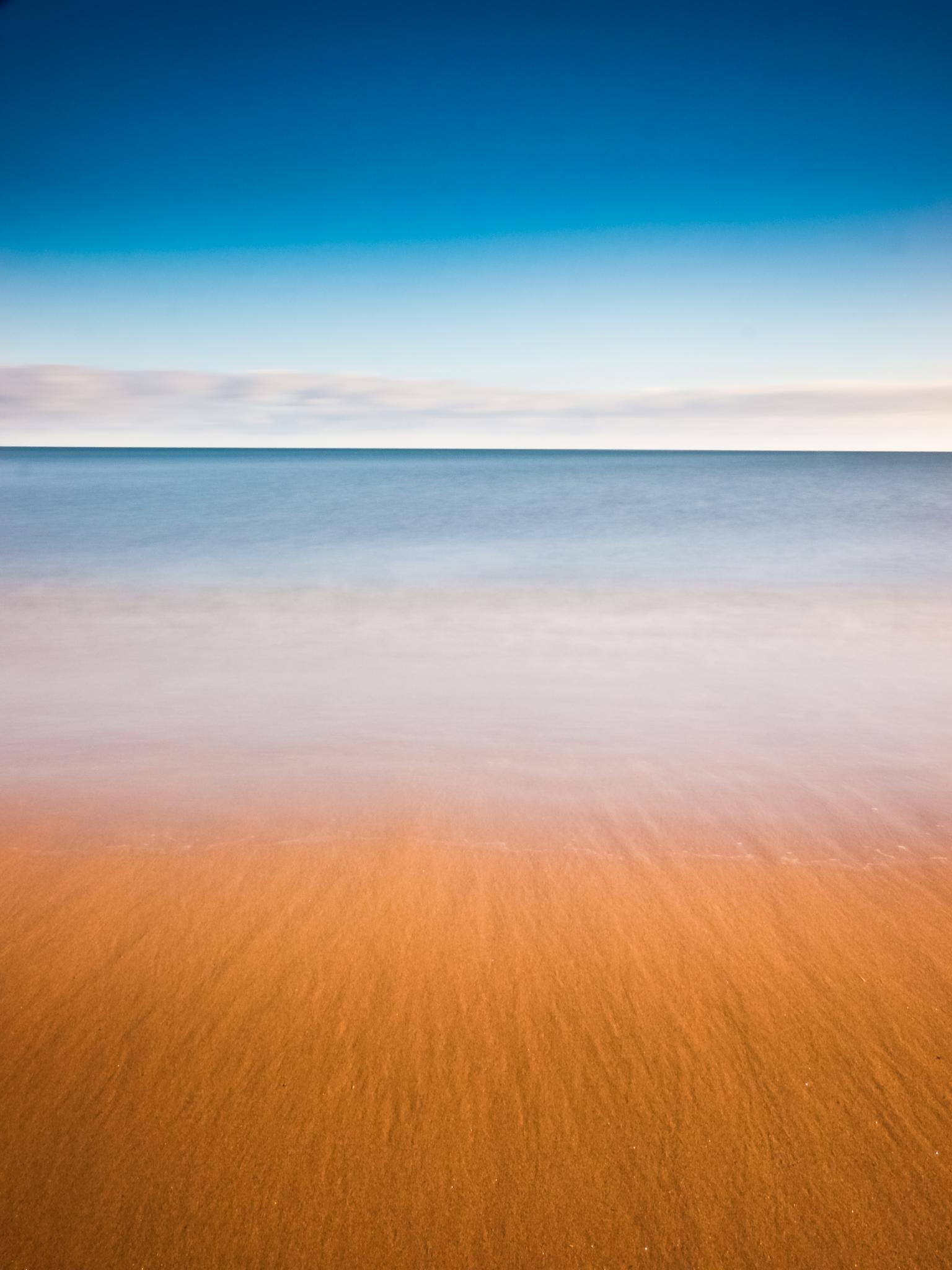 Sea sky sand by Peter Edwardo Vicente.