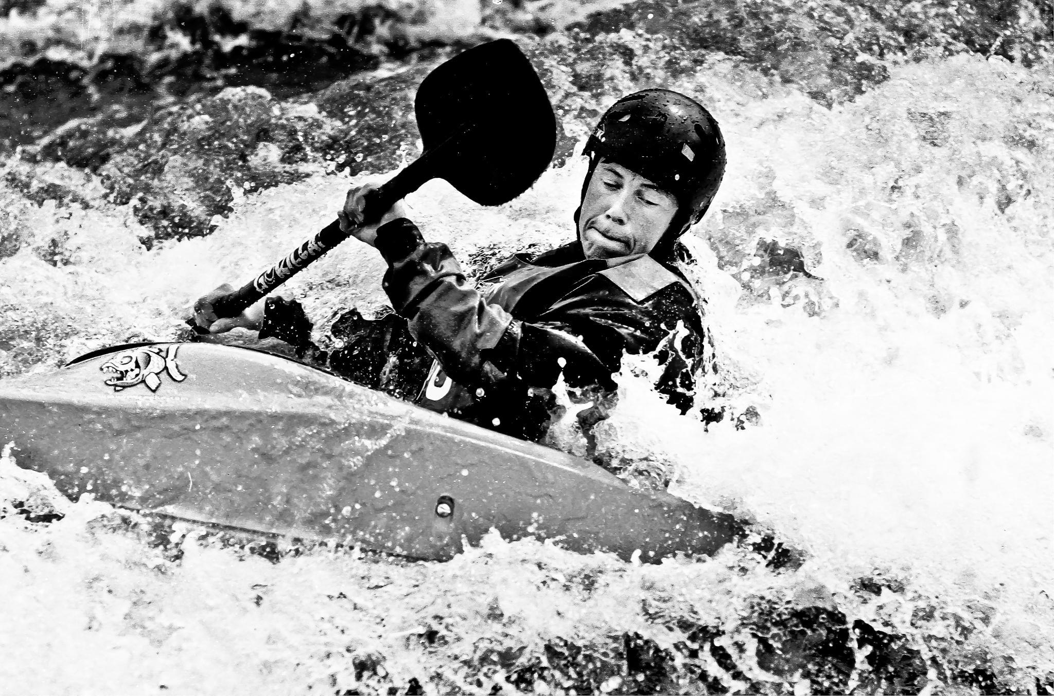 Canoeist. by Peter Edwardo Vicente.