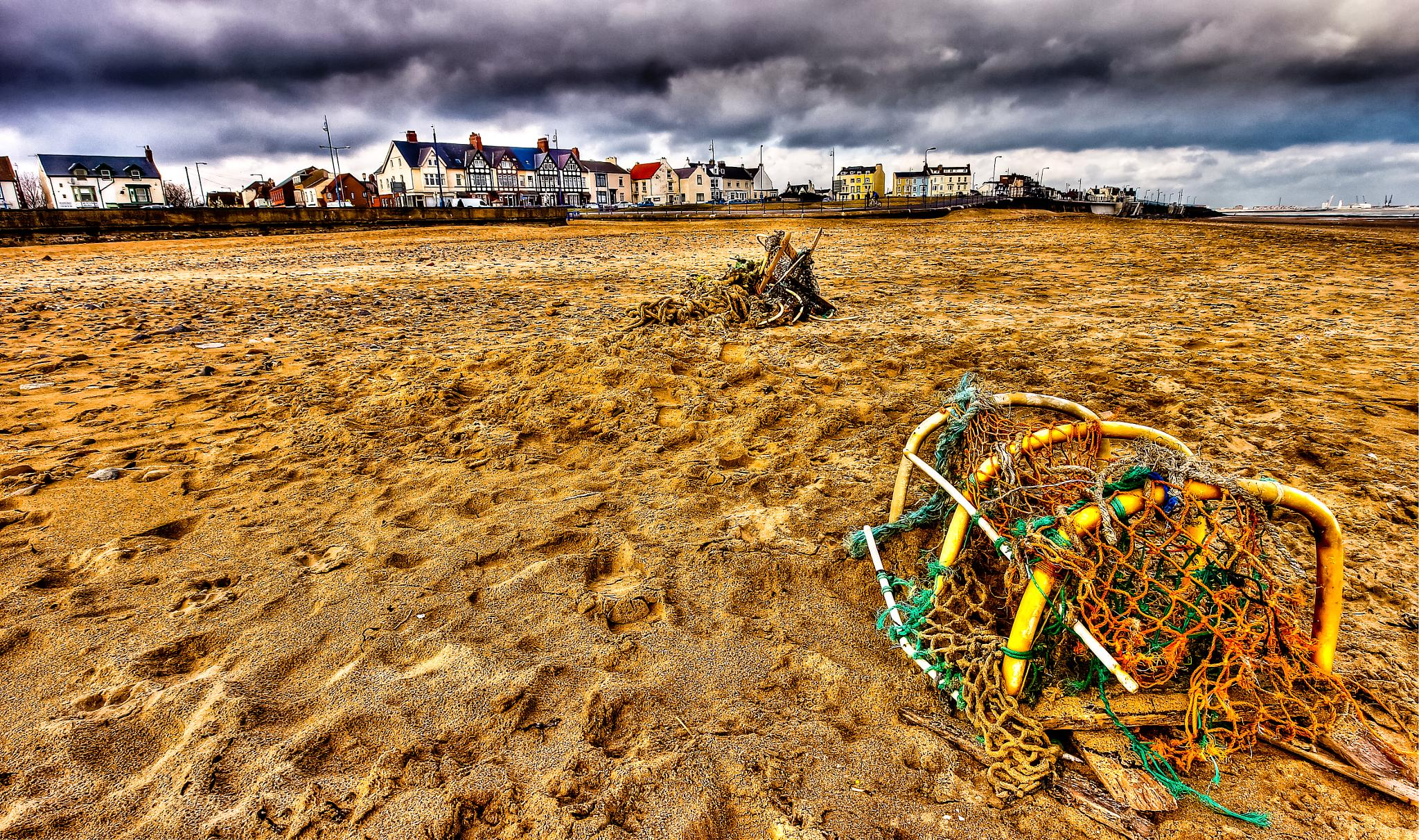 Lobster pot HDR by Peter Edwardo Vicente.
