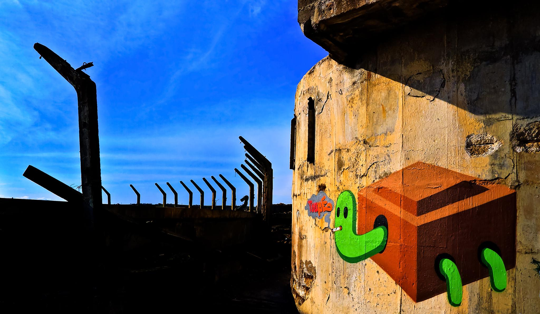 graffitti by Peter Edwardo Vicente.