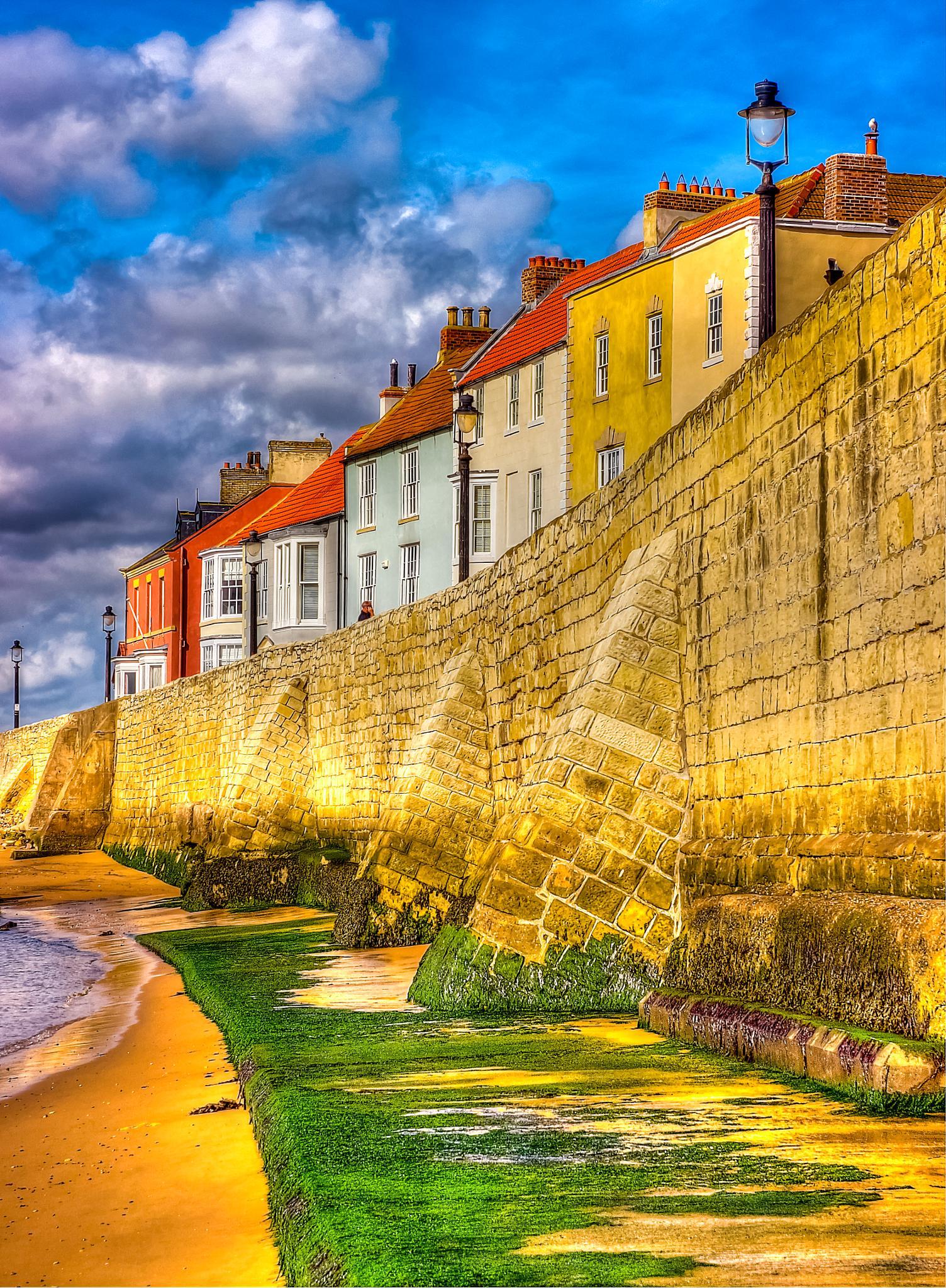 Sea wall by Peter Edwardo Vicente.