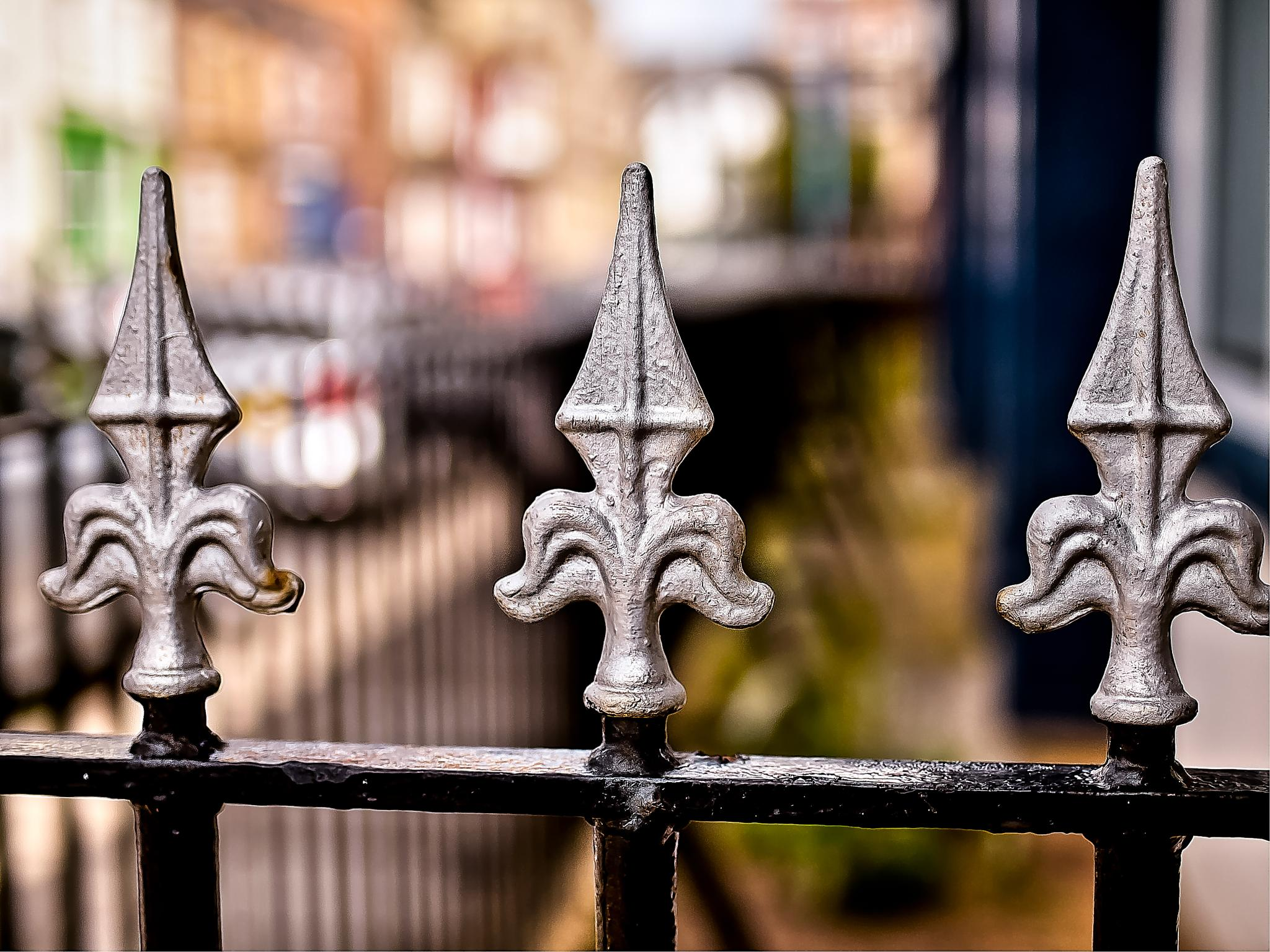 Railings by Peter Edwardo Vicente.