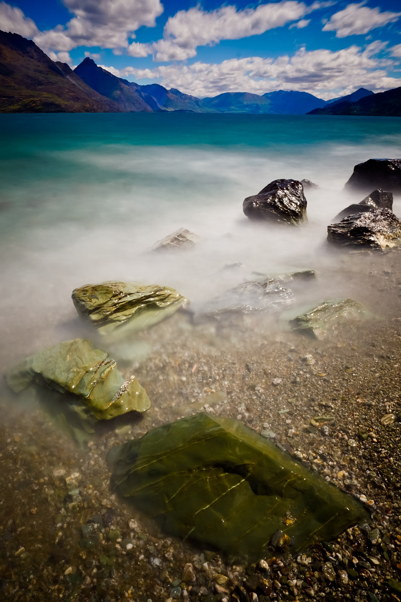 Green stones by Peter Edwardo Vicente.