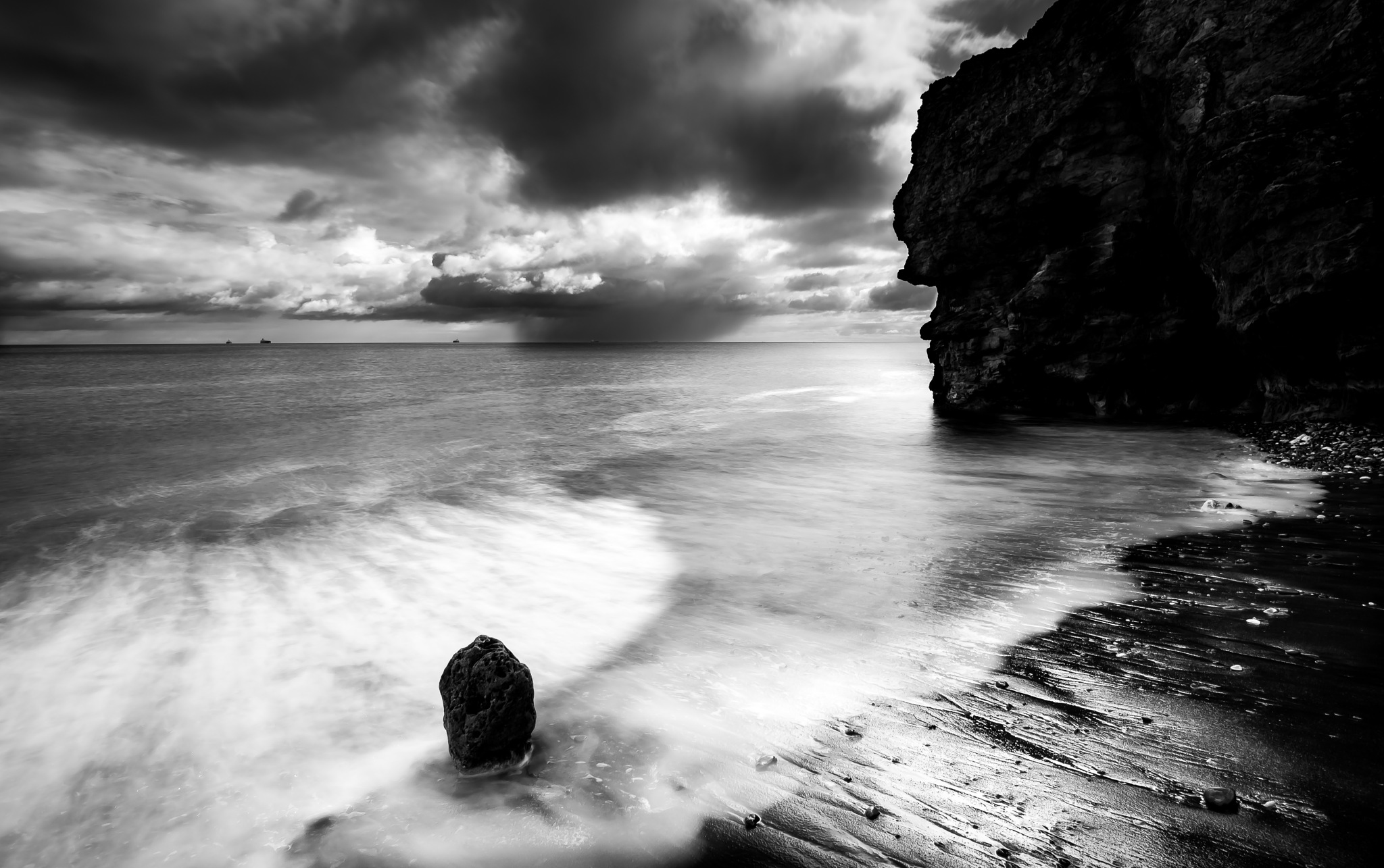 Heavy weather by Peter Edwardo Vicente.