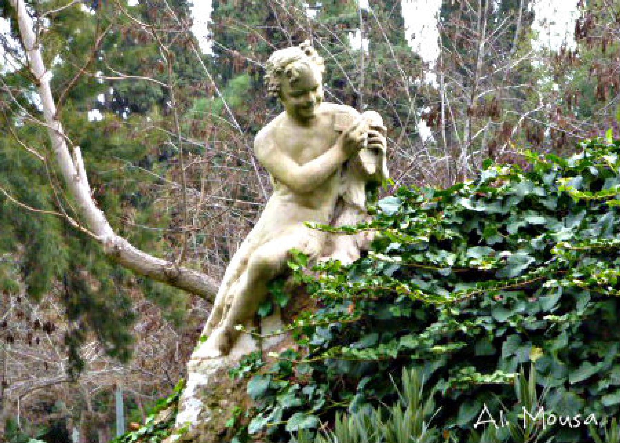 statue  by alexandra.tsamimousa