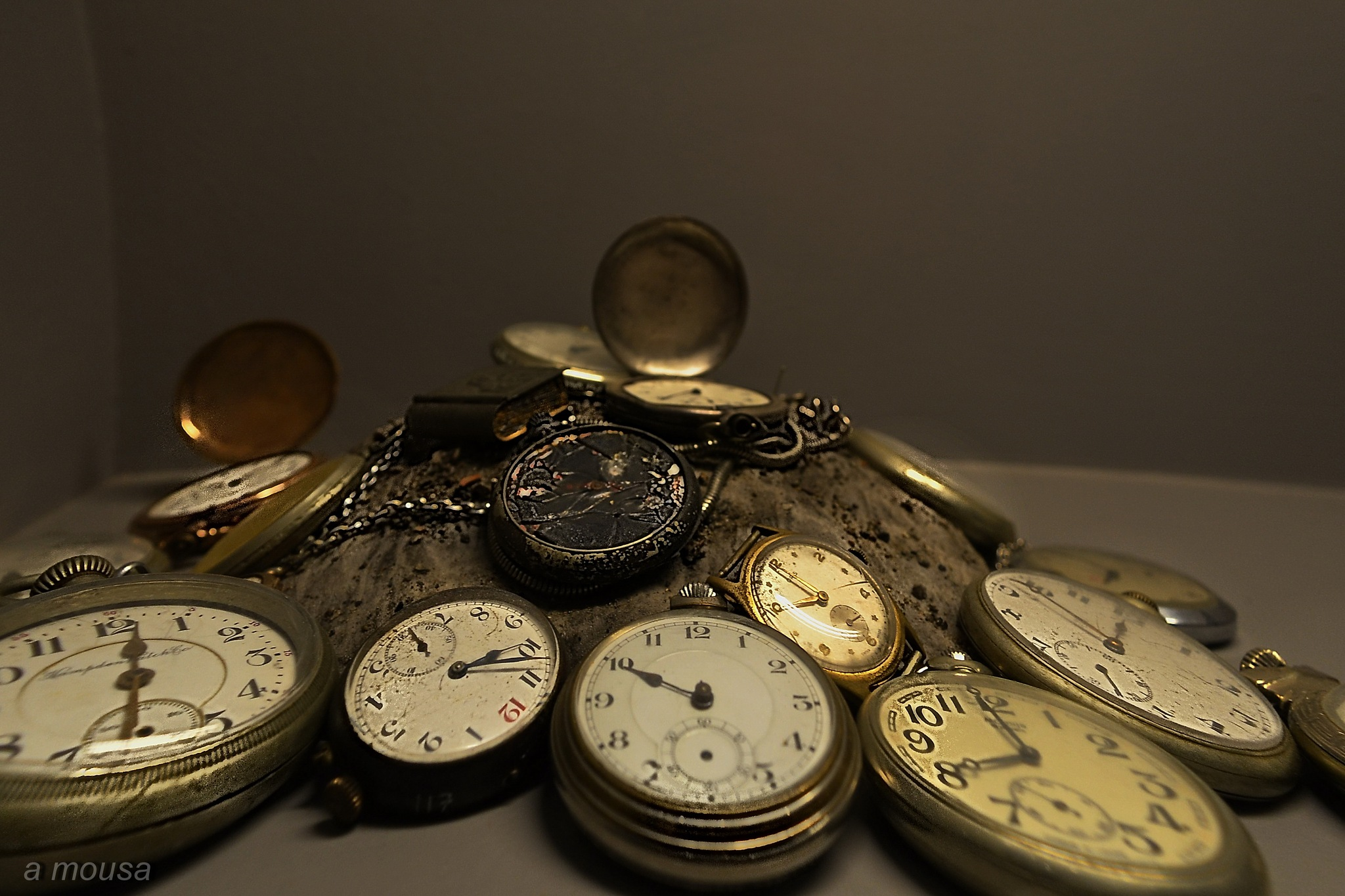 antique watches from the period of 30's-40's by alexandra.tsamimousa