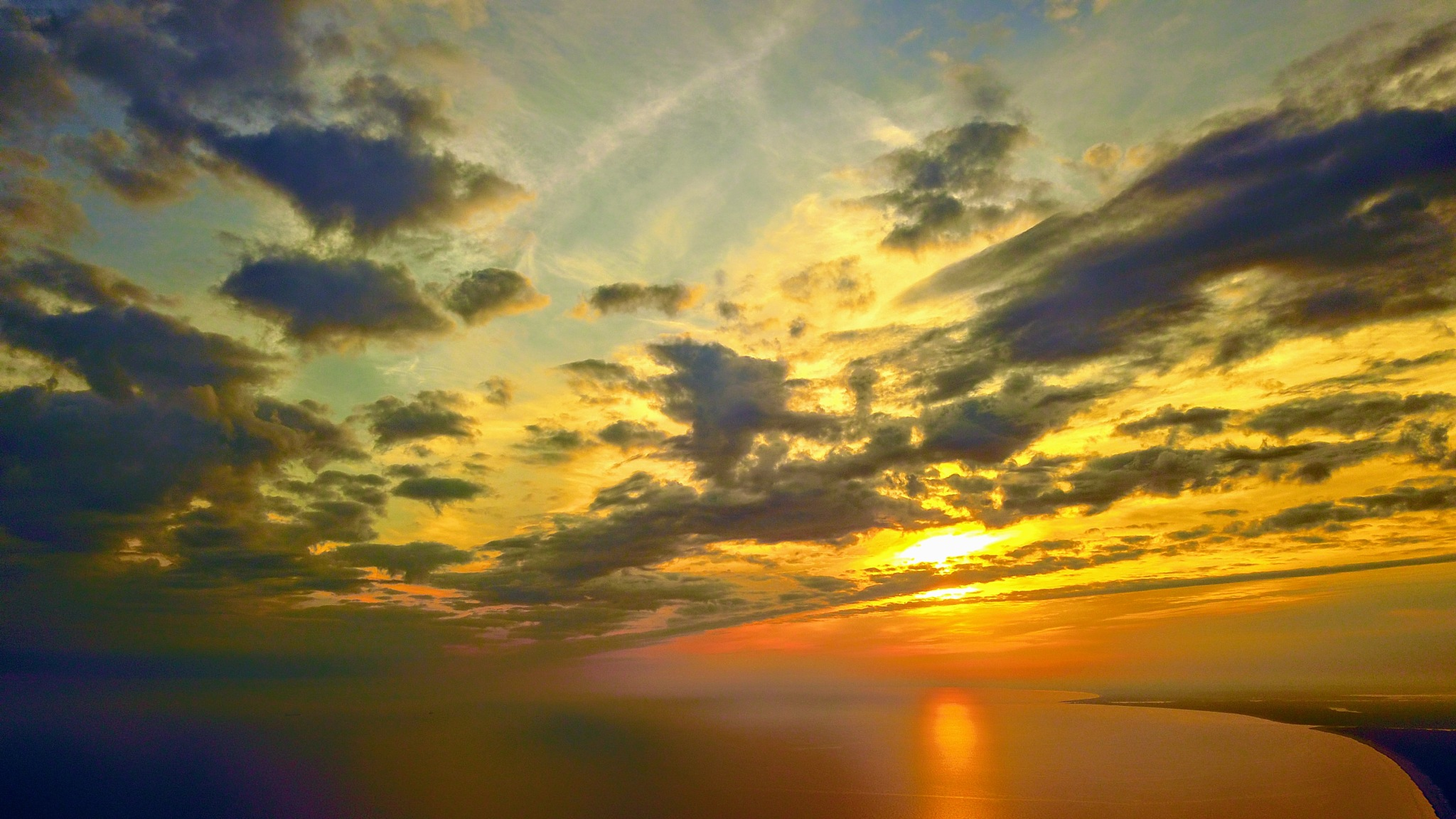 Morning over the Gulf of Riga by Art Wind