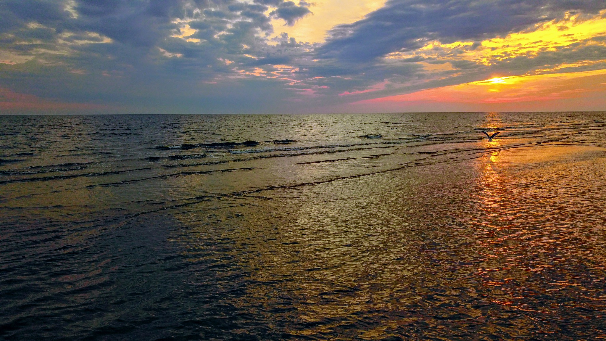 Morning over the Gulf of Riga III by Art Wind
