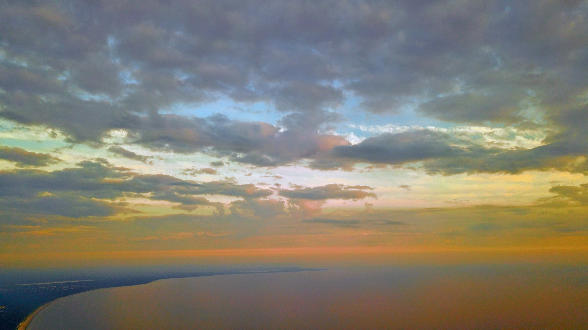 Morning over the Gulf of Riga II by Art Wind