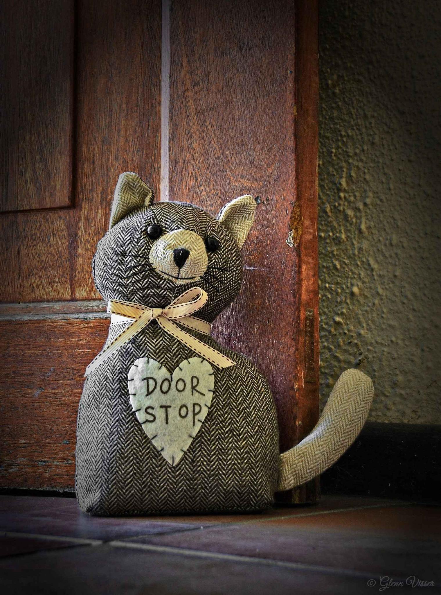 Door Stop by Glenn Gerard
