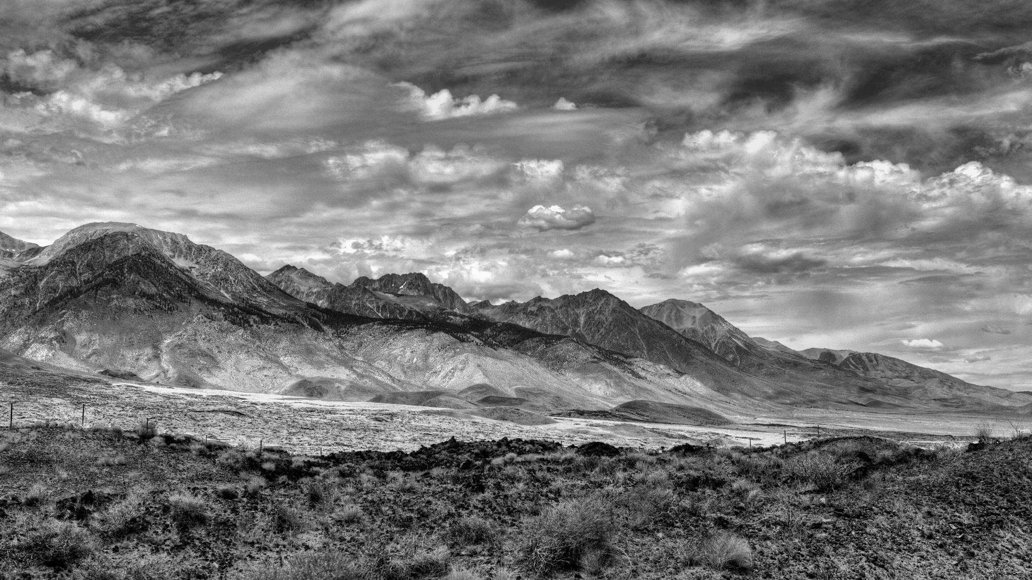 Big Pine Volcanic Field by Doug Santo