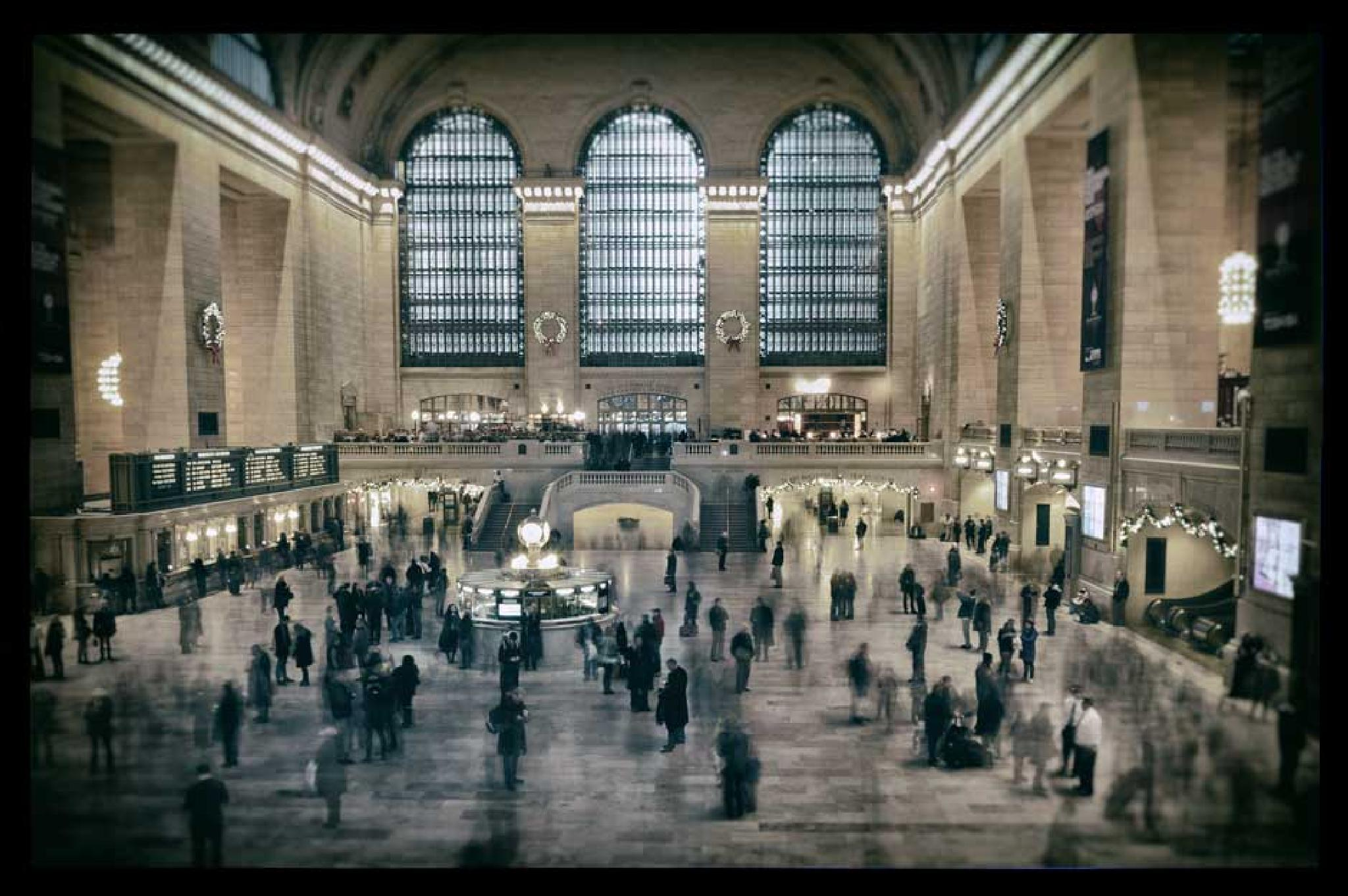 Grand Central Station by Juliet Evans Photography
