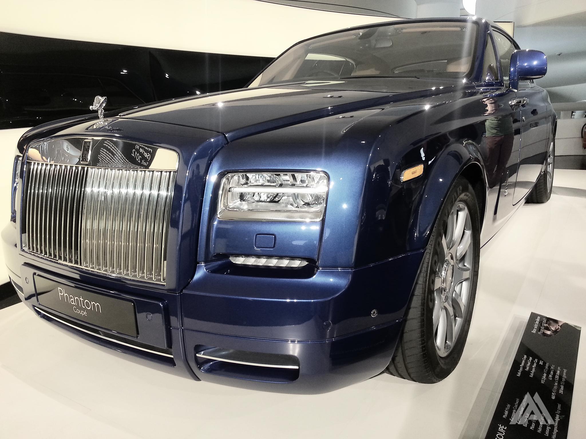 Rolls-Royce Phantom Coupe by Mihai Andrei