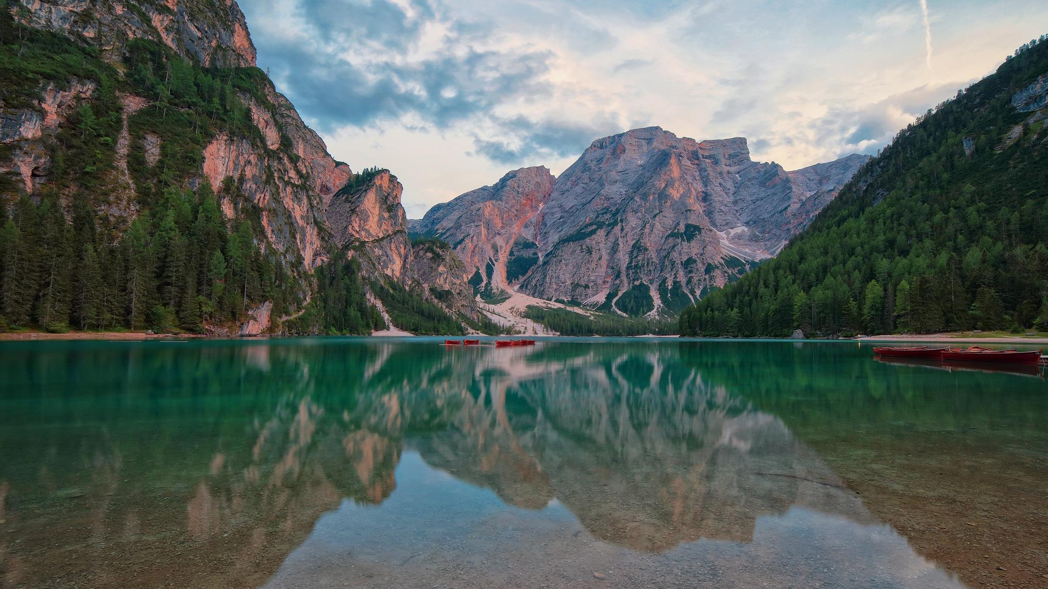 Braies Lake by erino.gualberto