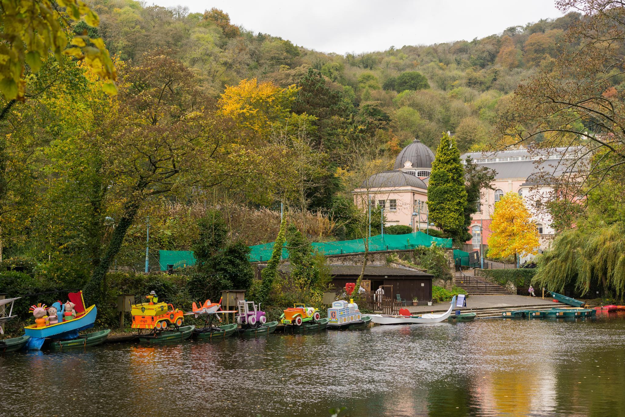 Autumn Colours at Matlock Bath by daviddukesell