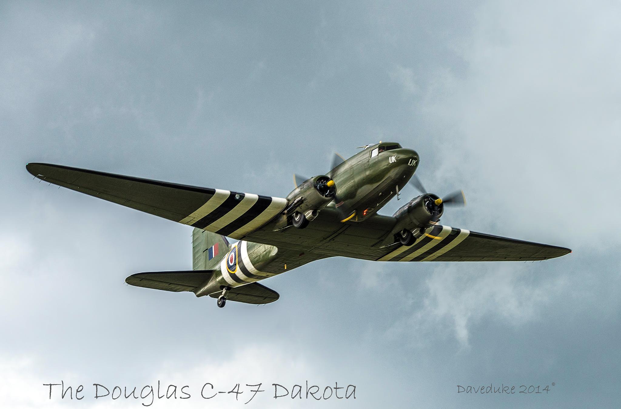 The Douglas C-47 Dakota by daviddukesell